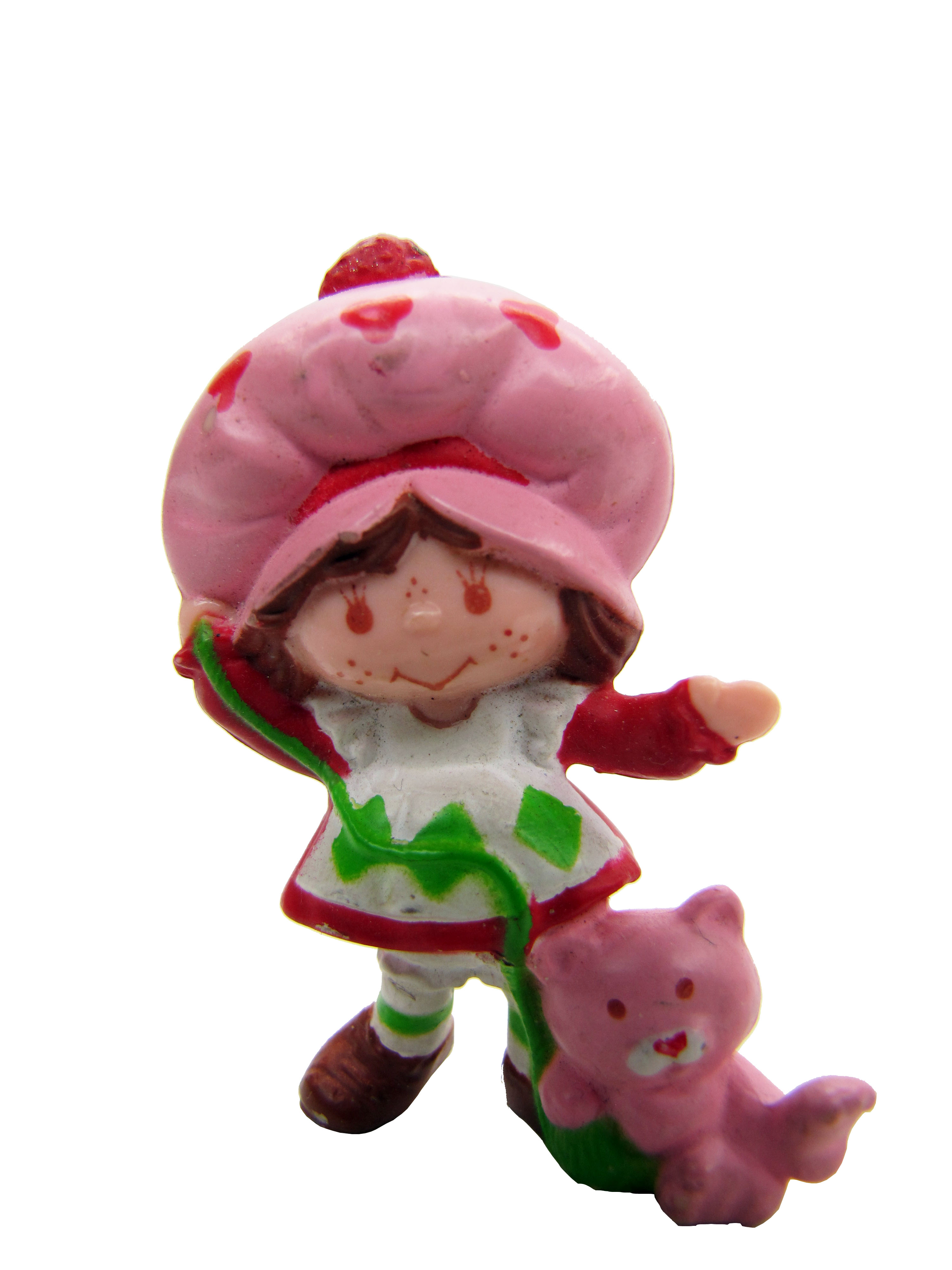 Vintage Strawberry Shortcake Playing with Custard