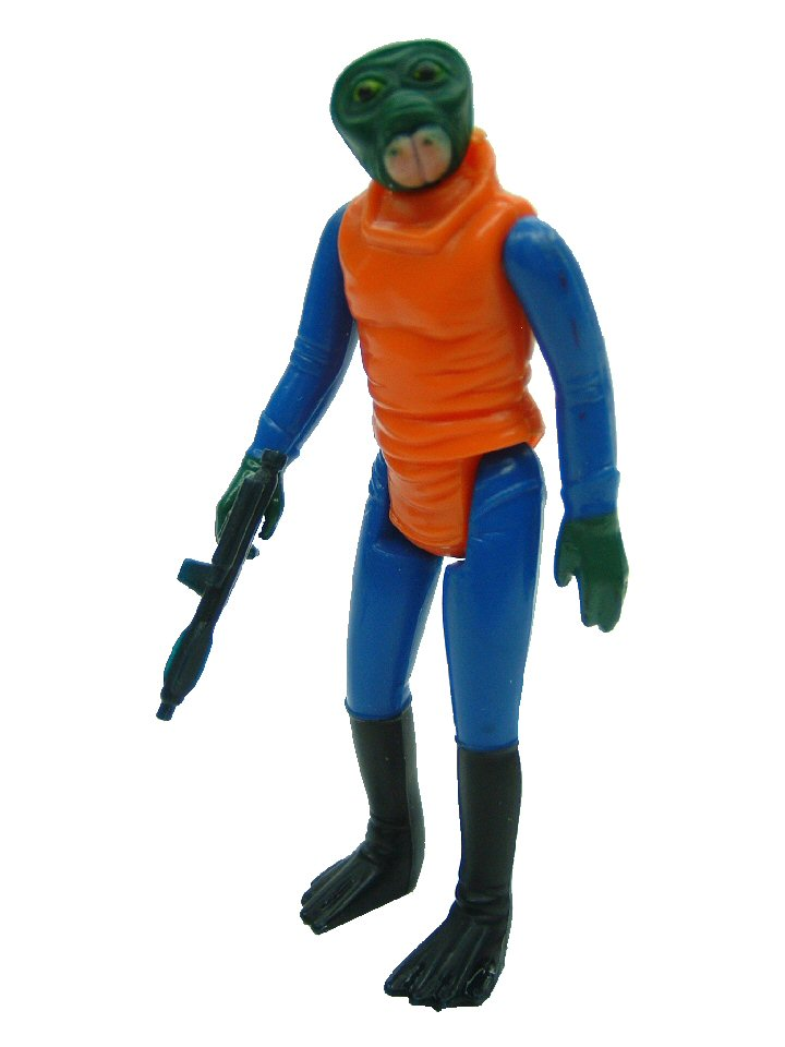1978 Star Wars WALRUS MAN Complete