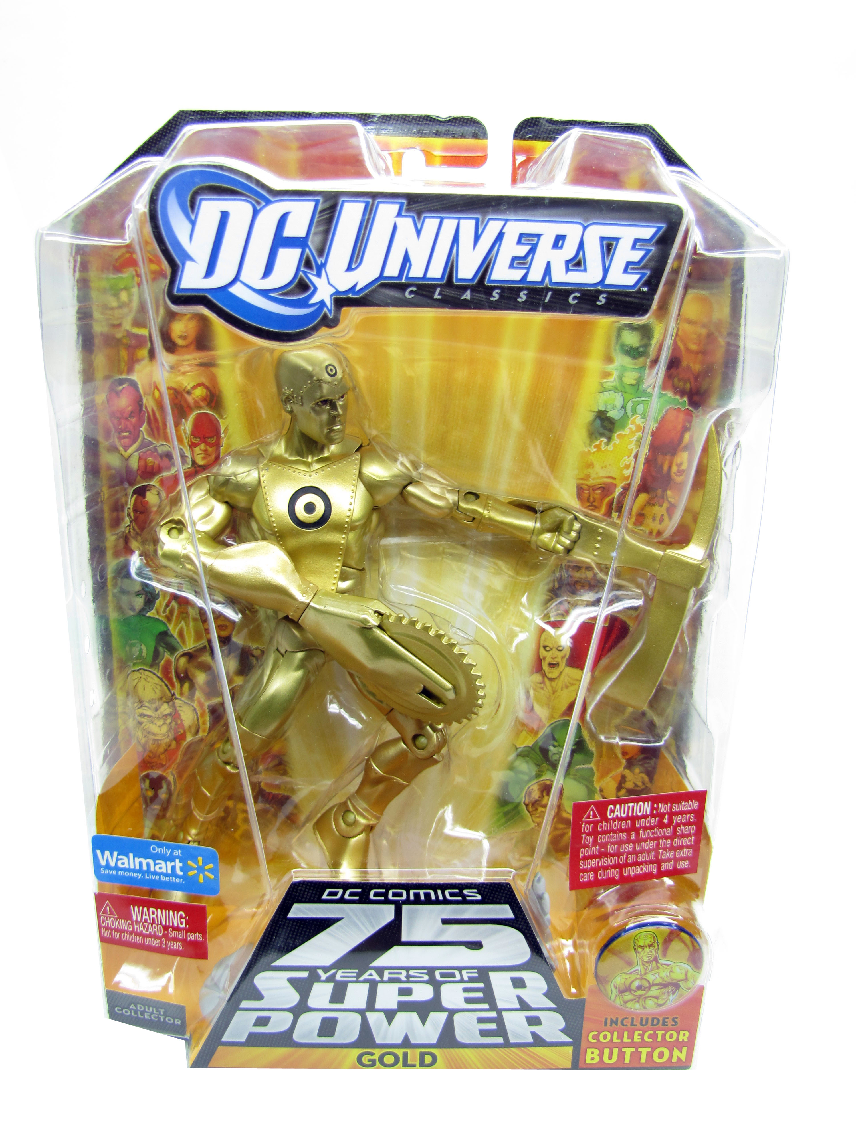 2010 DC Universe Classics GOLD Wave 14 ULTRA-HUMANITE Series Sealed NEW