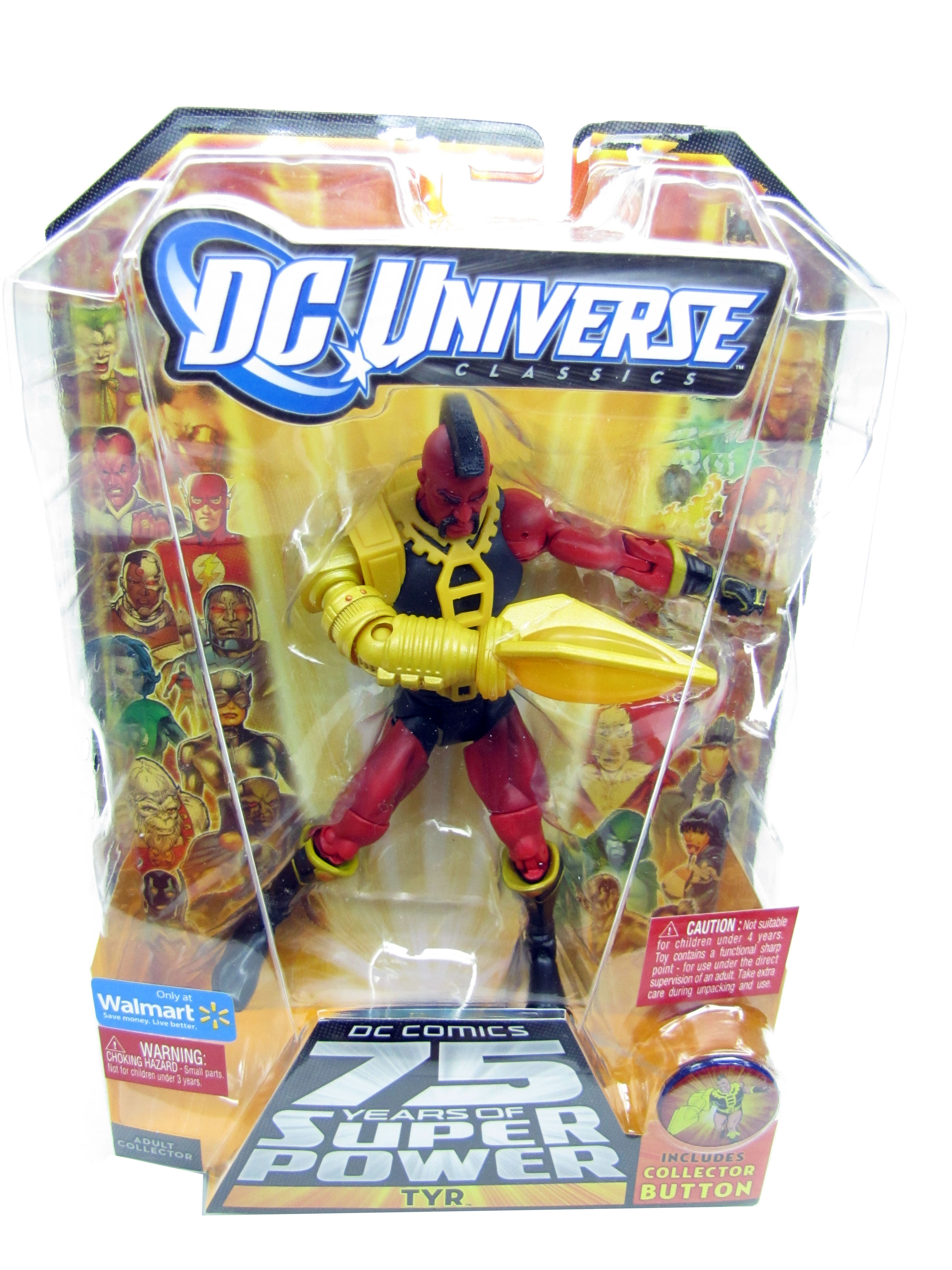 2010 DC Universe Classics TYR Wave 14 ULTRA-HUMANITE Series Sealed NEW