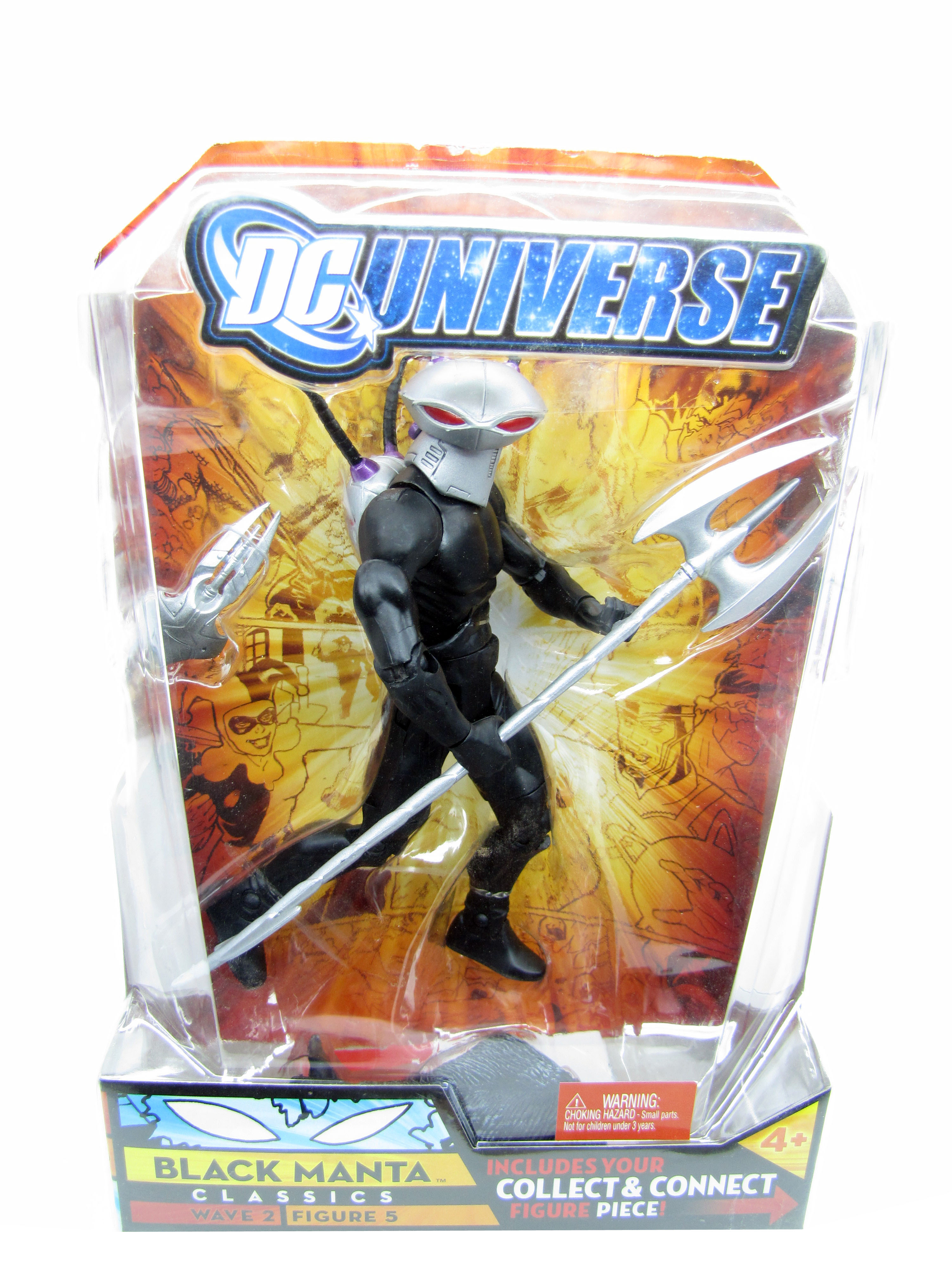 DC Universe Classics Wave 2 Black Manta Sealed