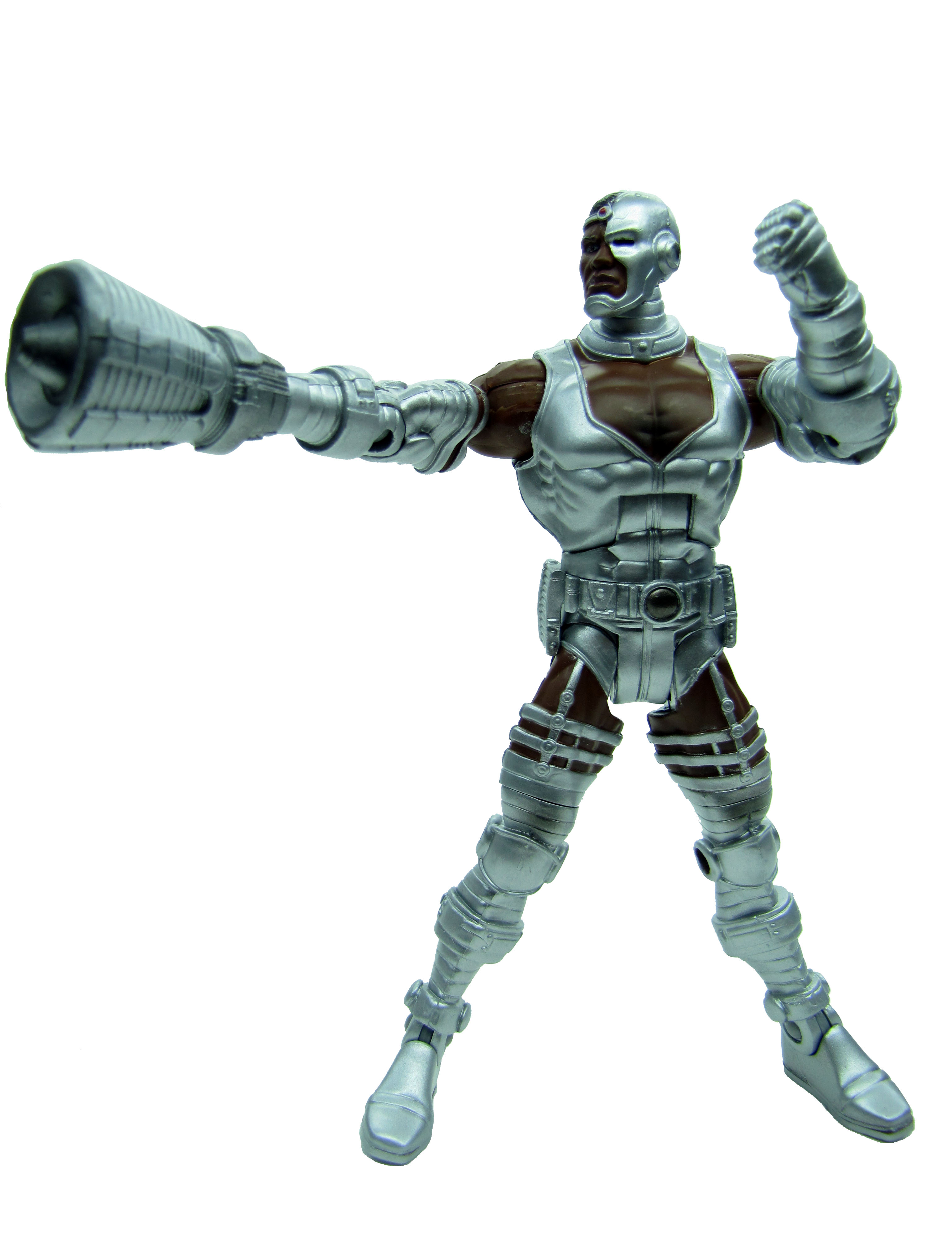 DC Universe Classics Wave 4 Cyborg Sonic Arm Variant Complete