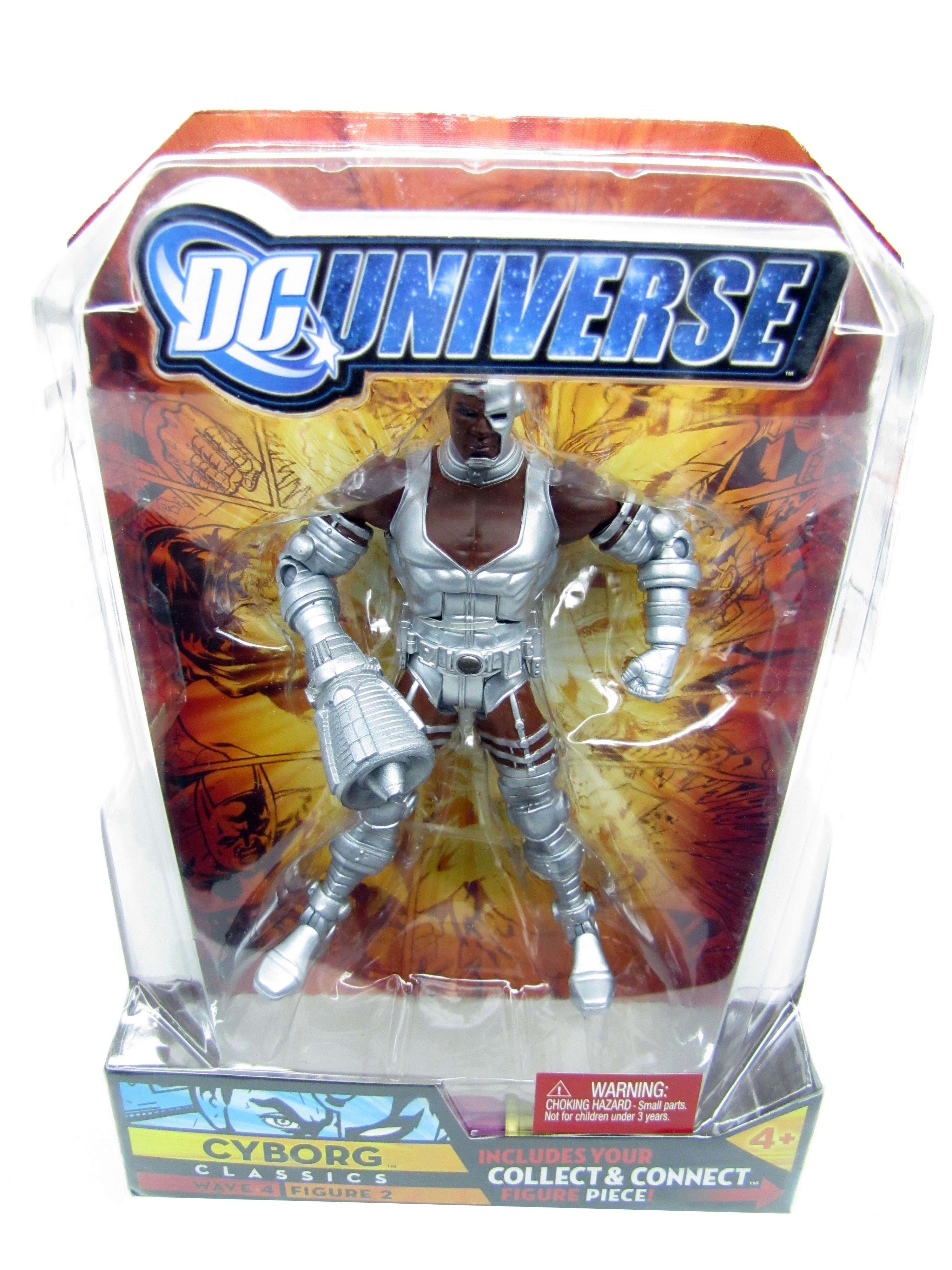 2008 DC Universe Classics CYBORG Sonic Arm Wave 4 Despero Series Sealed NEW