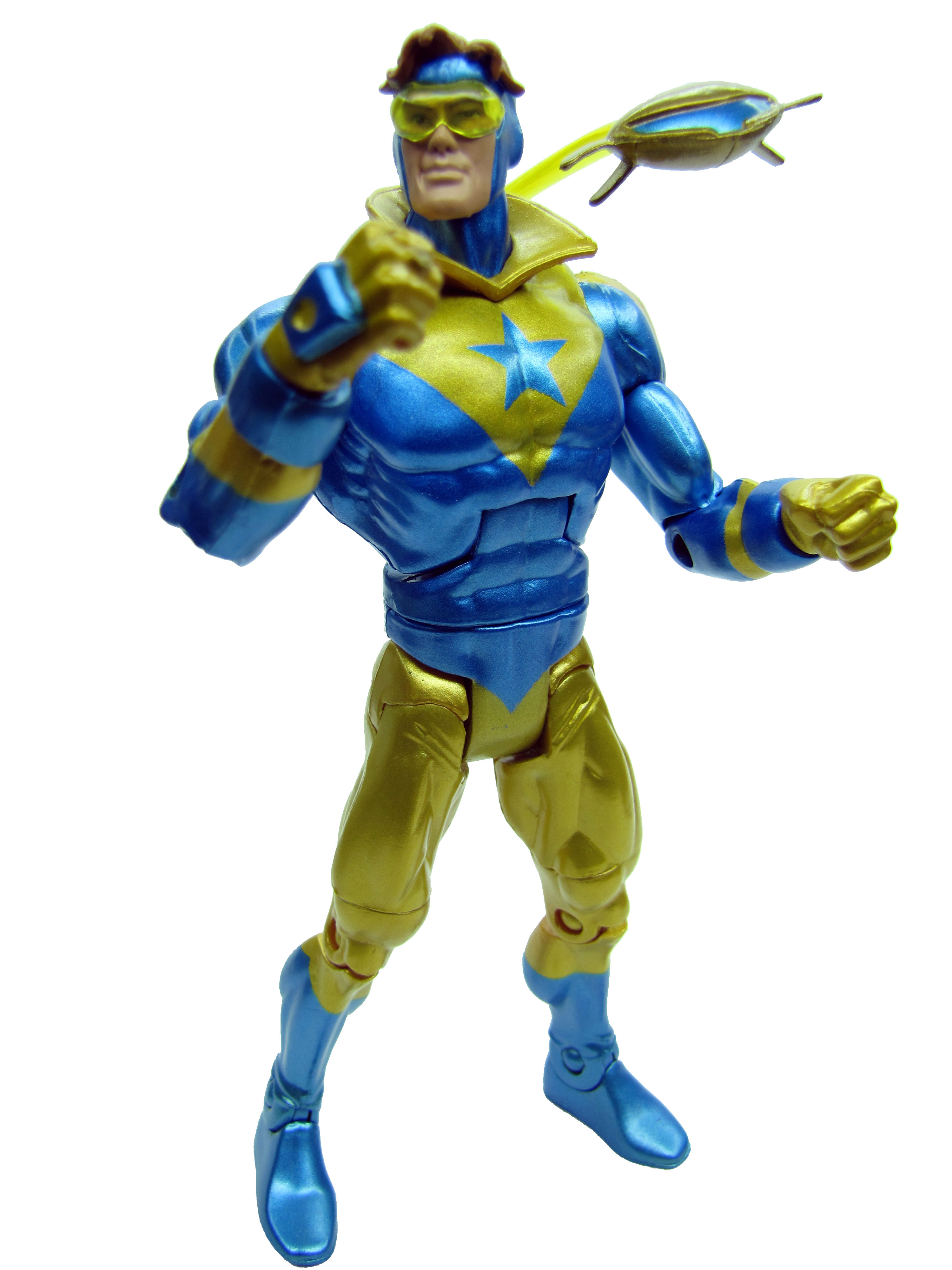 DC Universe Classics Wave 7 Bootser Gold Complete