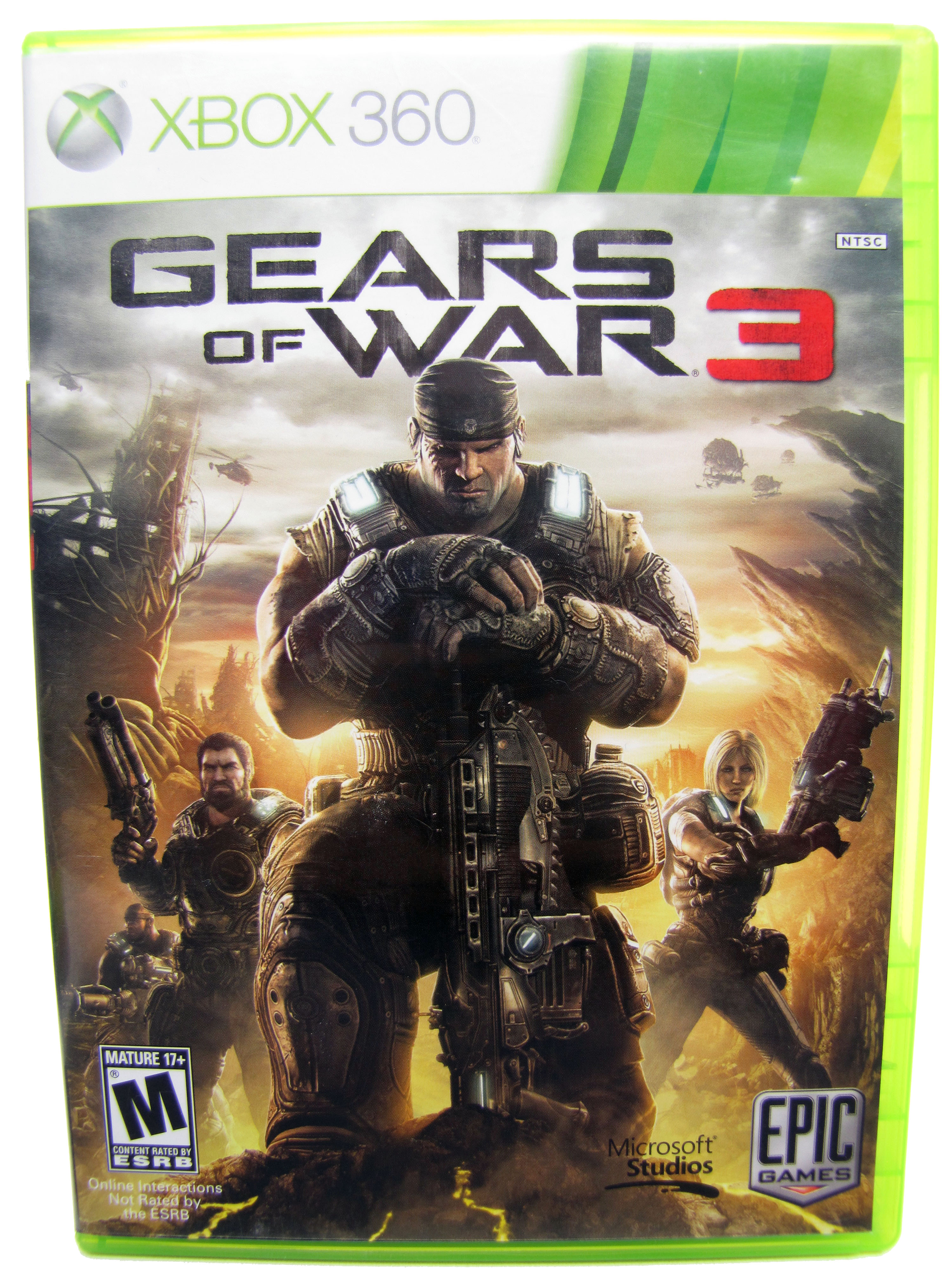 XBOX 360 Gears of War 3 Complete - 2011