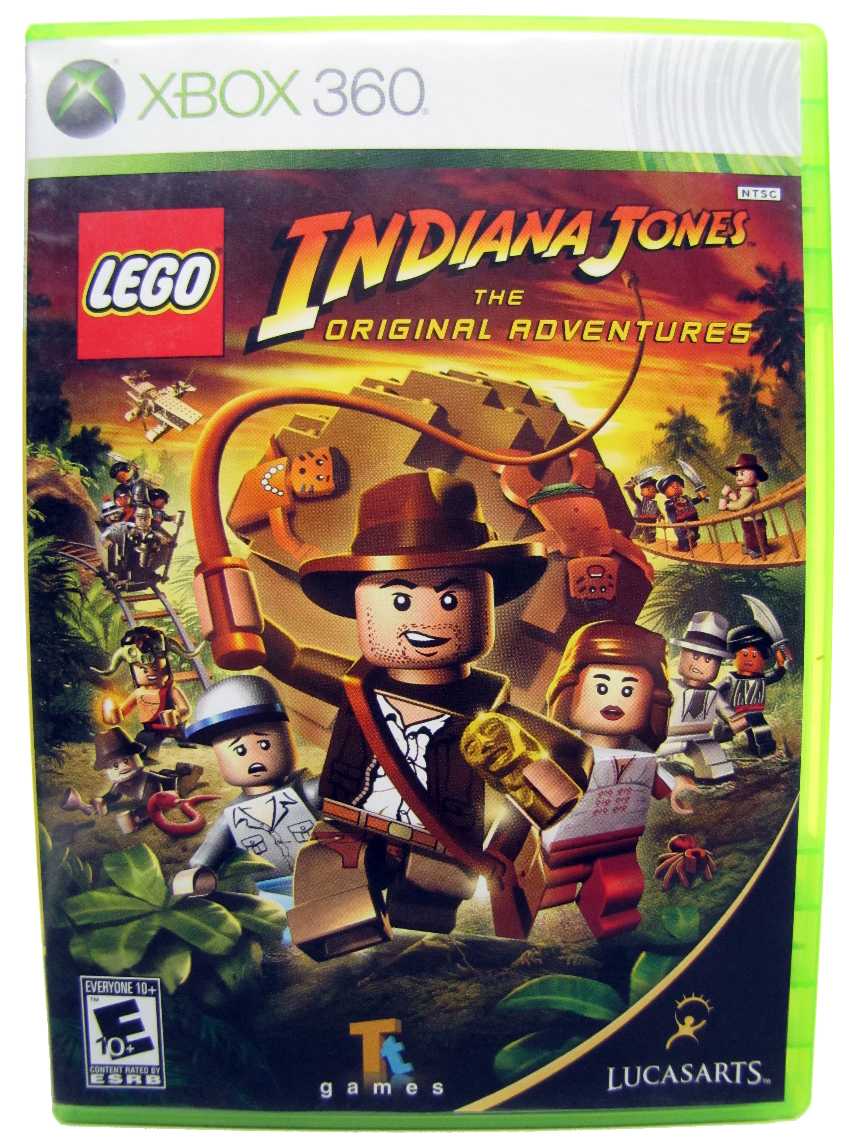 XBOX 360 LEGO Indiana Jones Original Adventures Complete - 2008