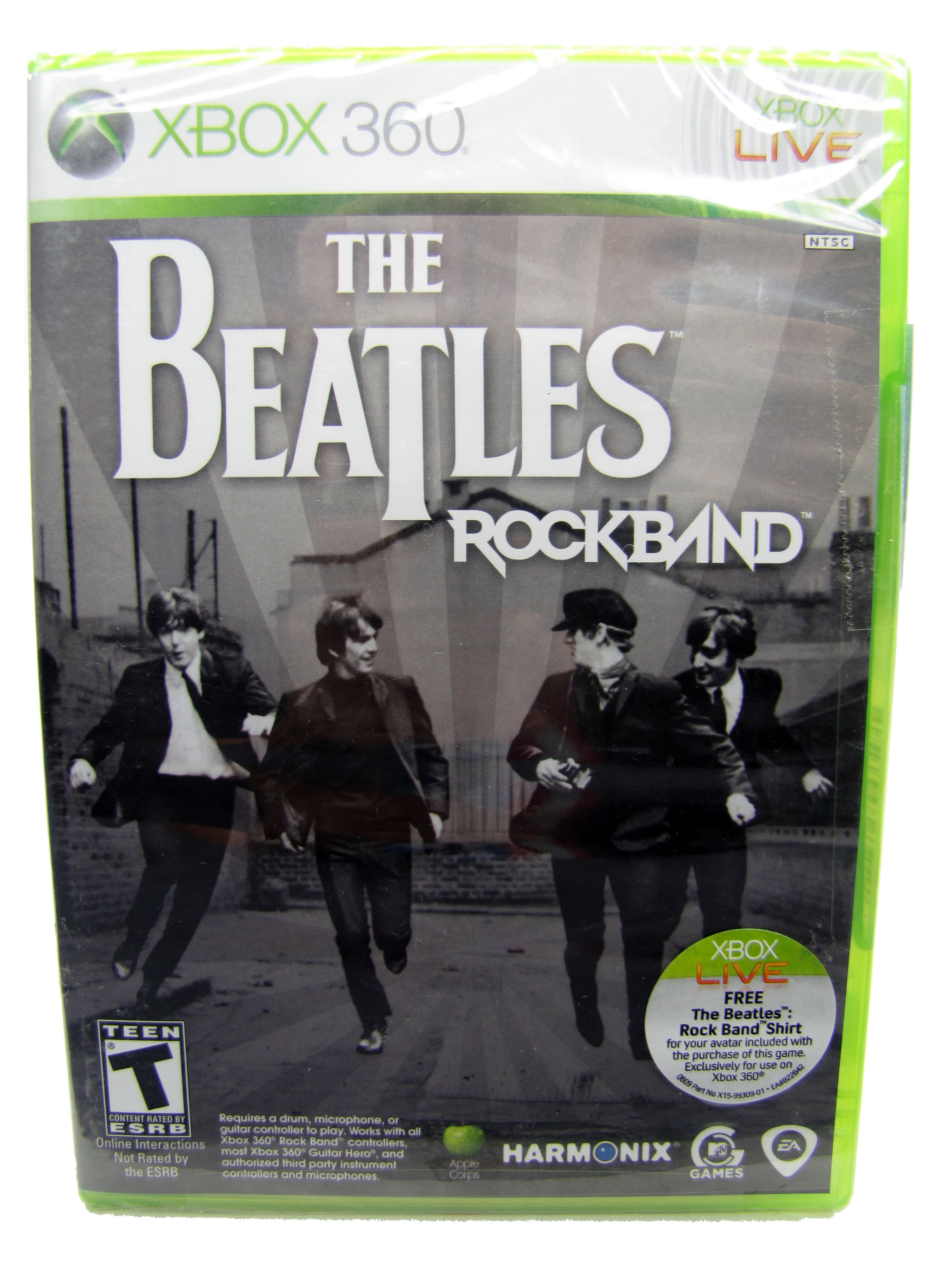 XBOX 360 The Beatles Rock Band Sealed NEW - 2009