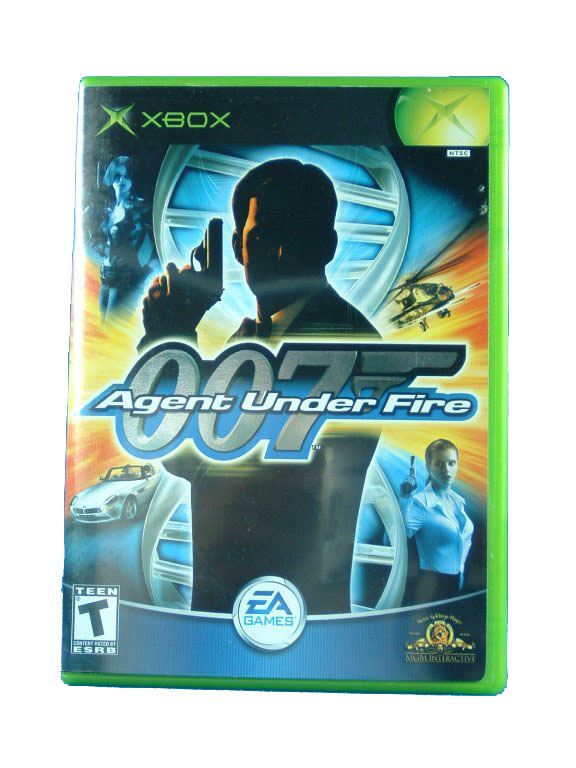 XBOX James Bond 007 in Agent Under Fire Complete - 2003