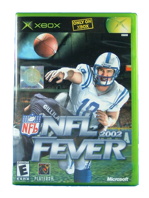 XBOX NFL Fever 2002 Complete - 2001
