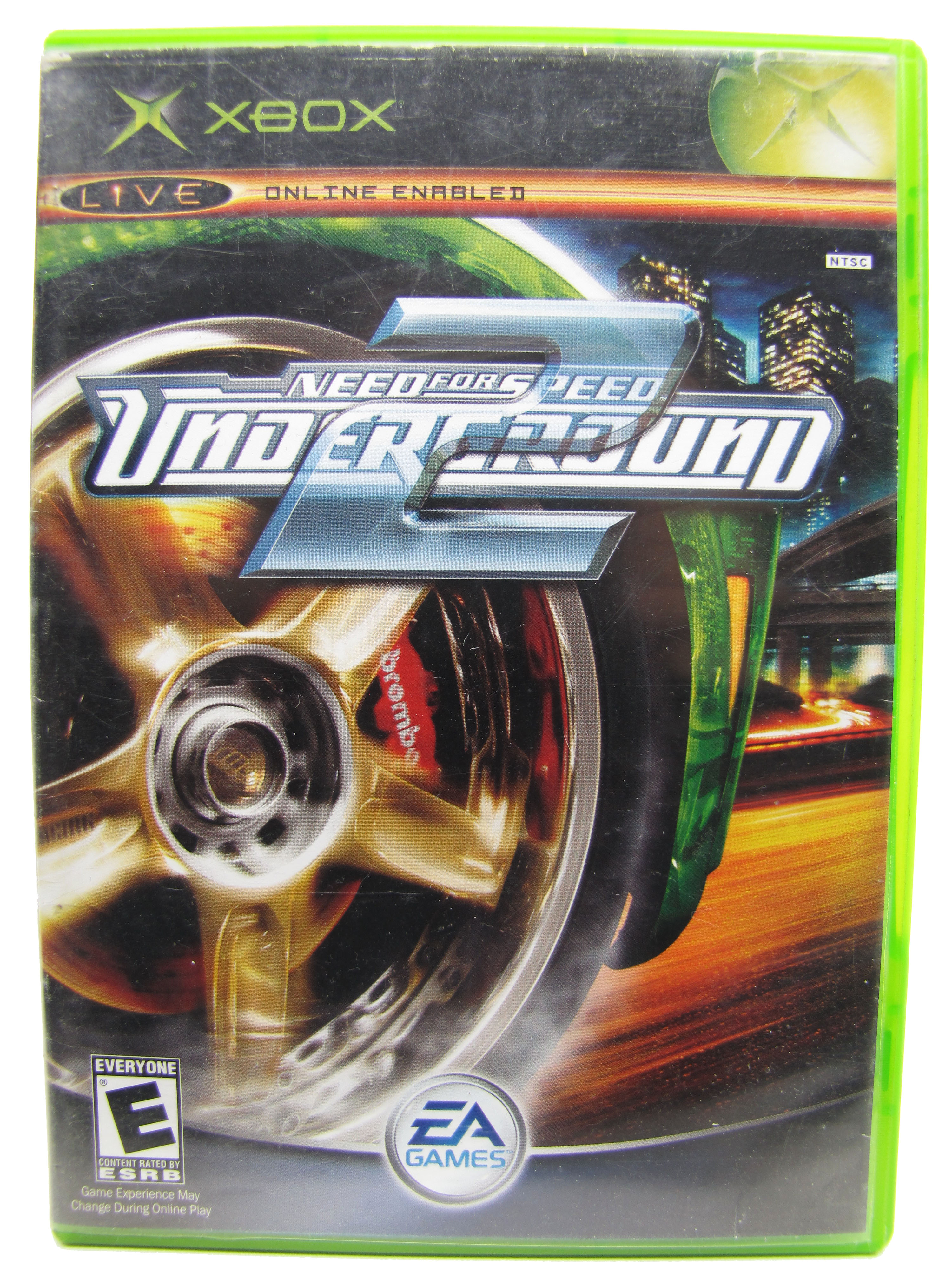 XBOX Need for Speed Underground 2