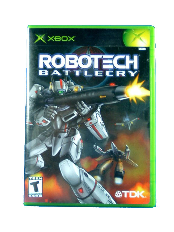 XBOX Robotech Battlecry Complete - 2002