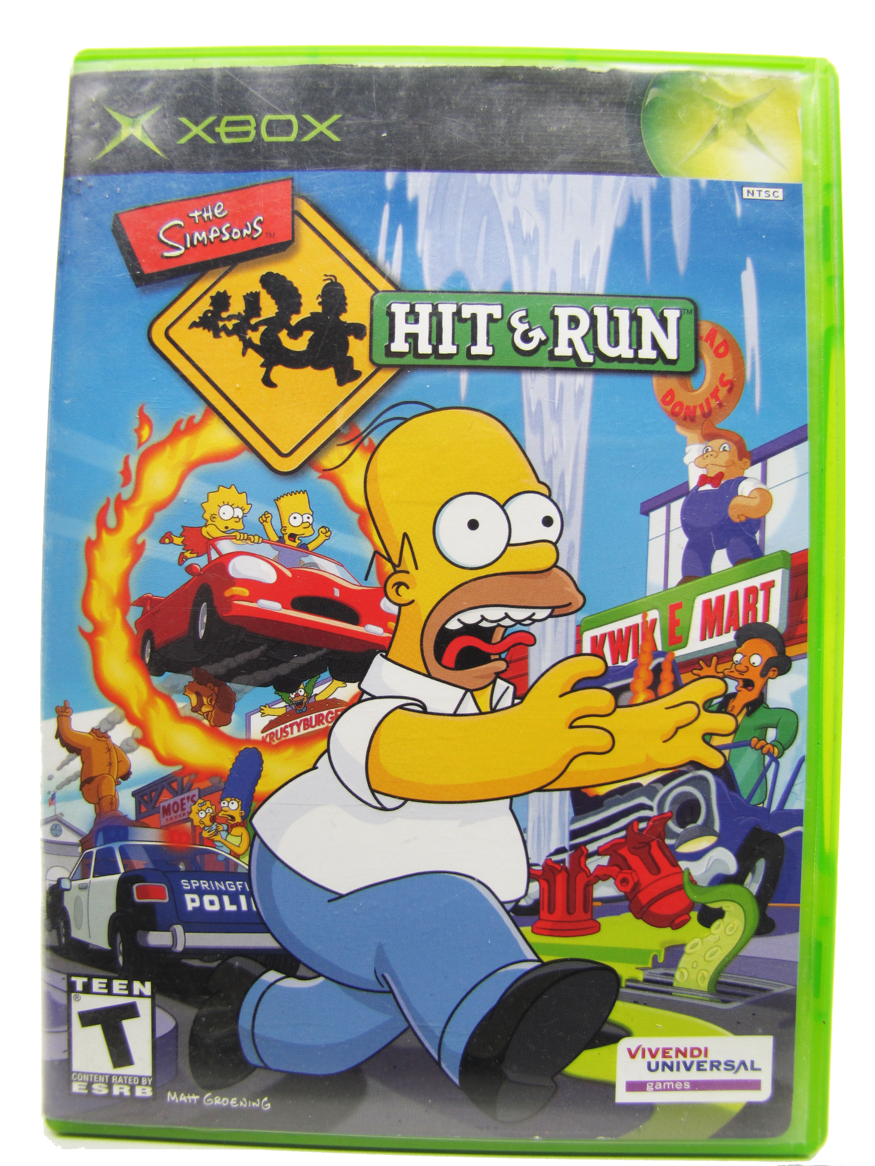 XBOX The Simpsons: Hit & Run