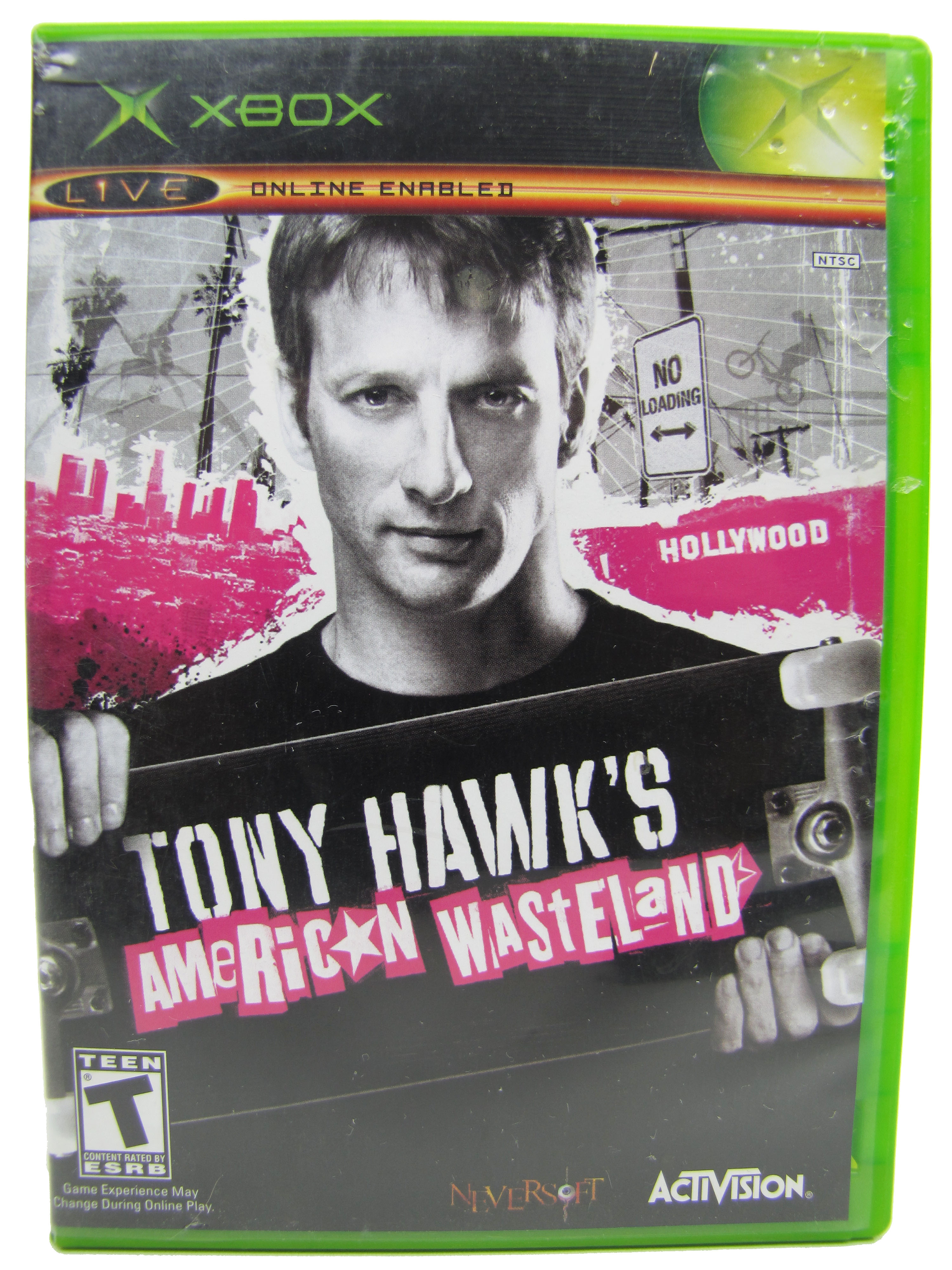 XBOX Tony Hawk American Wasteland