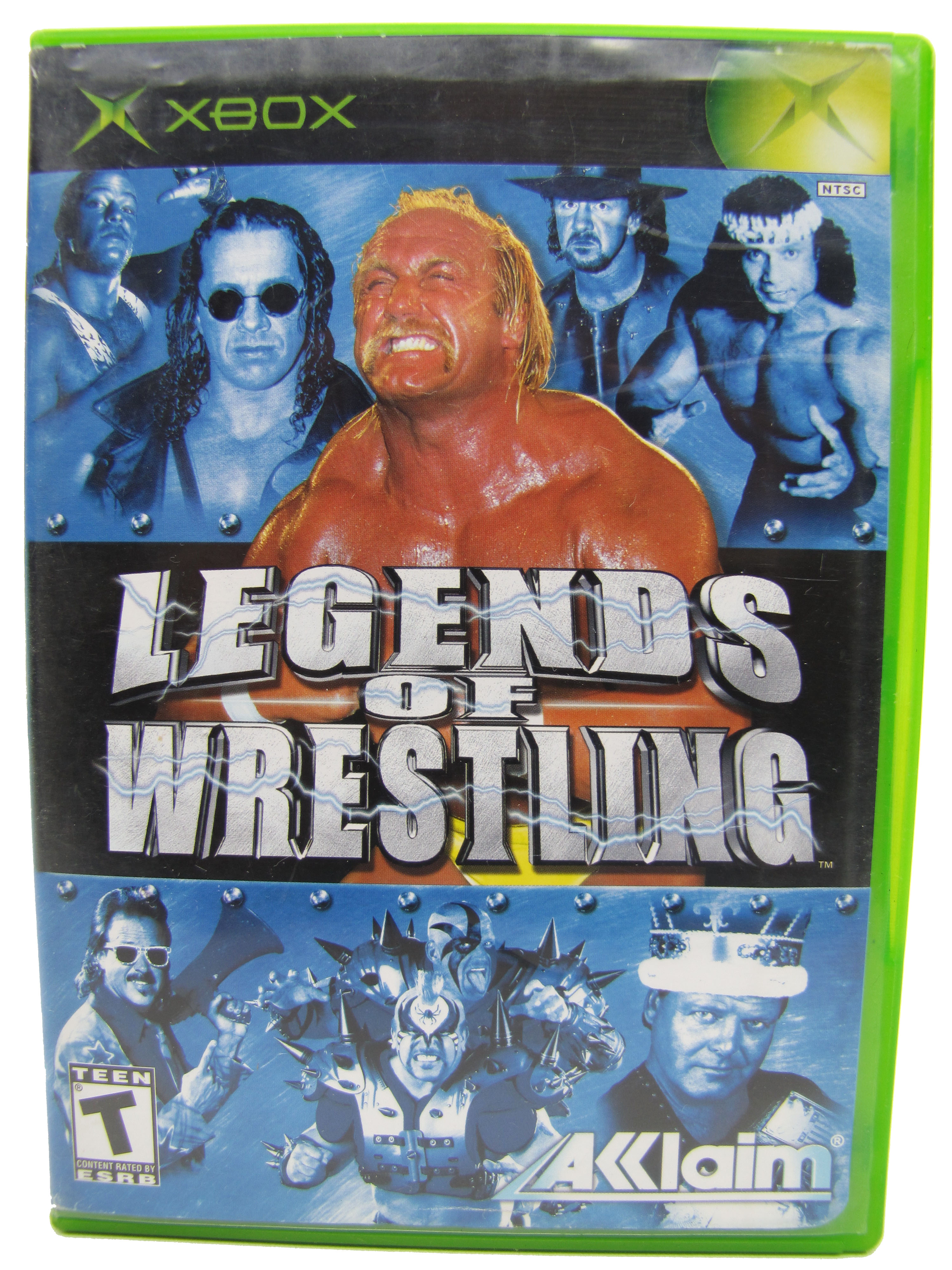 XBOX WWF Legends of Wrestling Complete - 2002