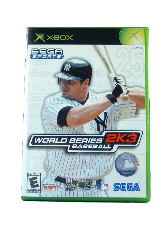 XBOX World Series Baseball 2K3 Complete - 2003