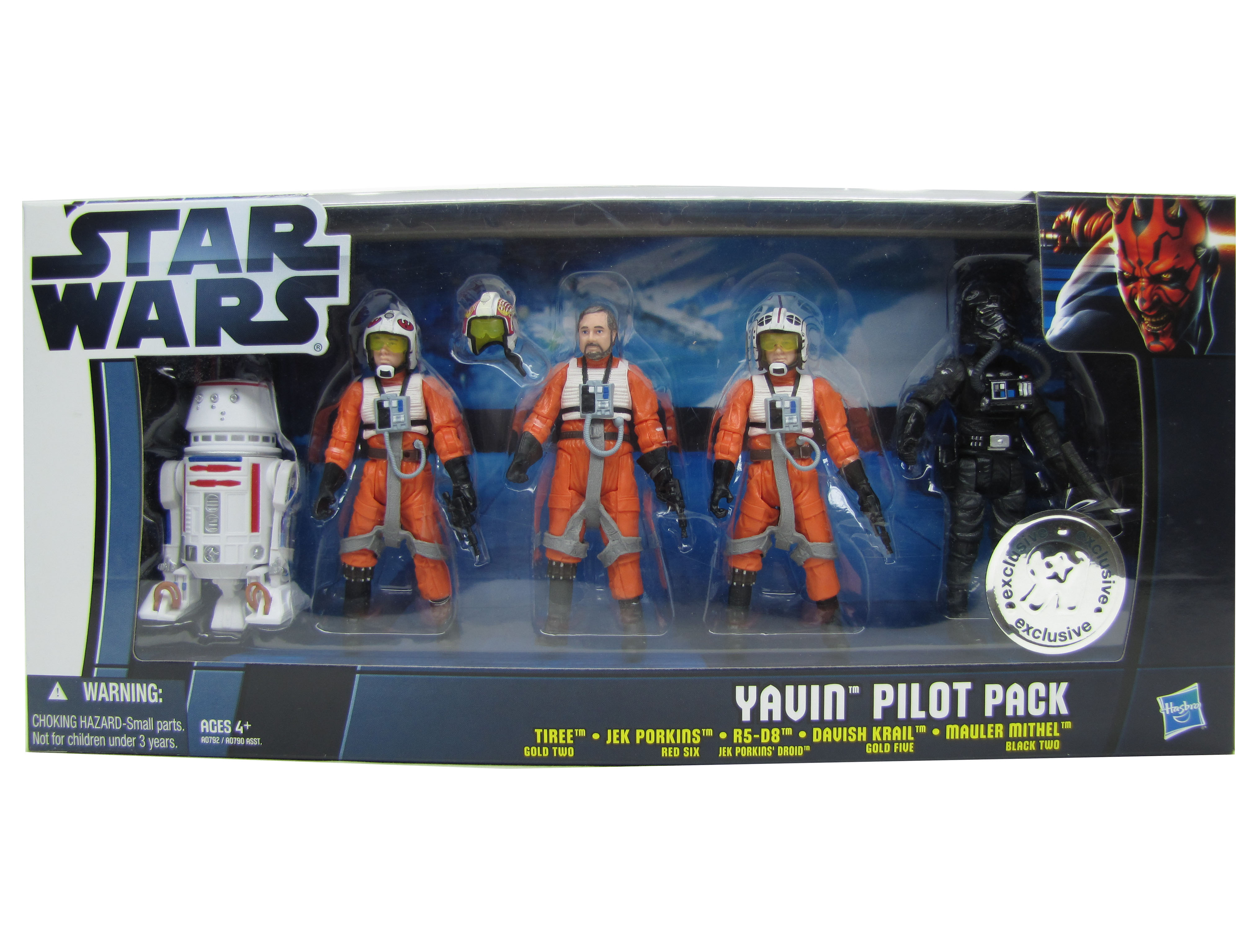 2012 Star Wars Movie Heroes YAVIN PILOTS TOYSRUS BATTLE PACK