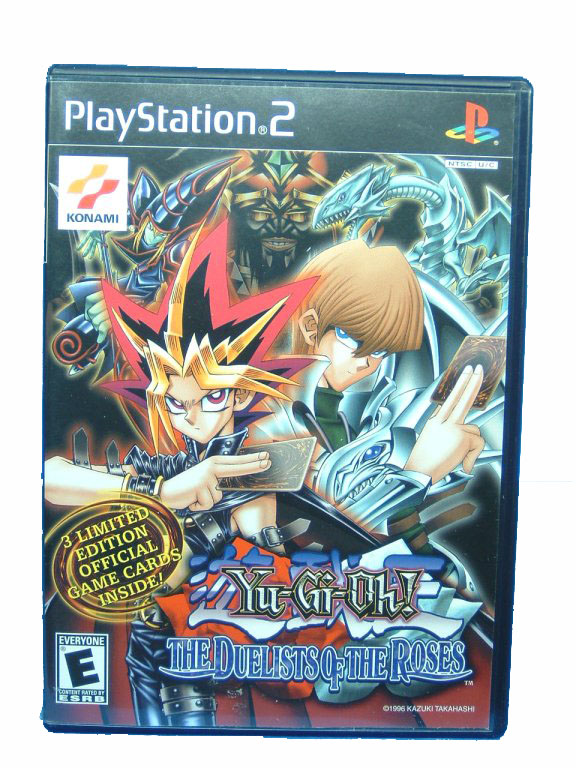 PS2 Yu-Gi-Oh! The Duelists of the Roses Complete - 2003
