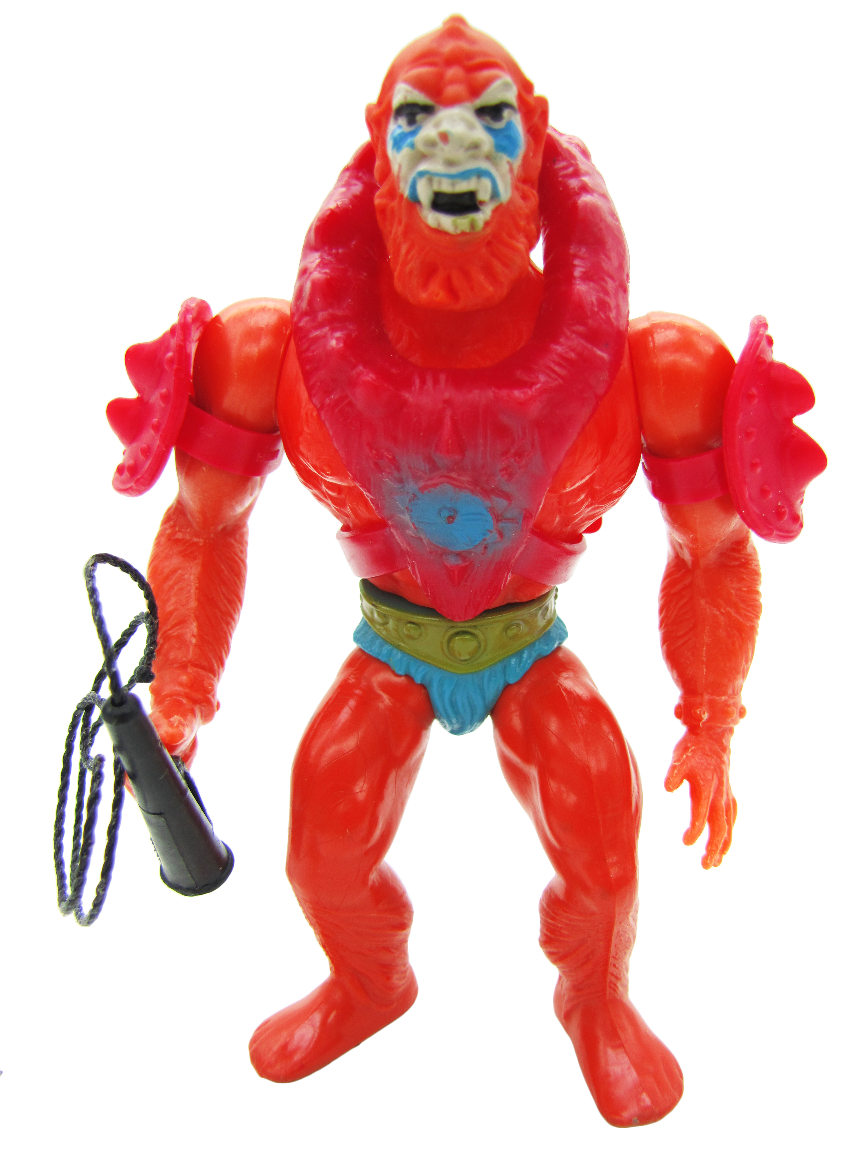 1982 MOTU Masters of the Universe BEAST MAN SAVAGE HENCHMAN Complete Mint