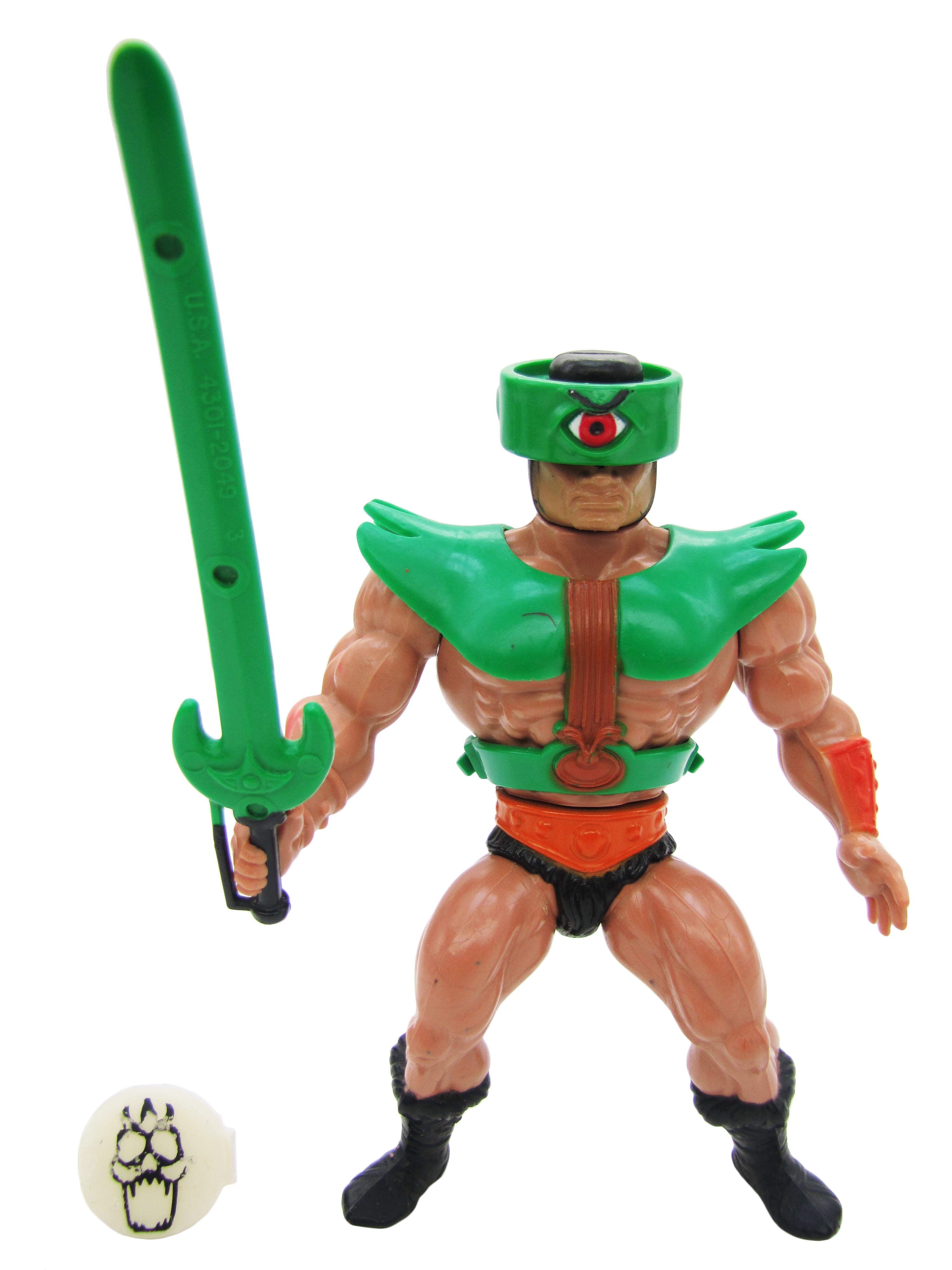 1983 MOTU Masters of the Universe TRI-KLOPS SEES EVERYTHING Complete Mint