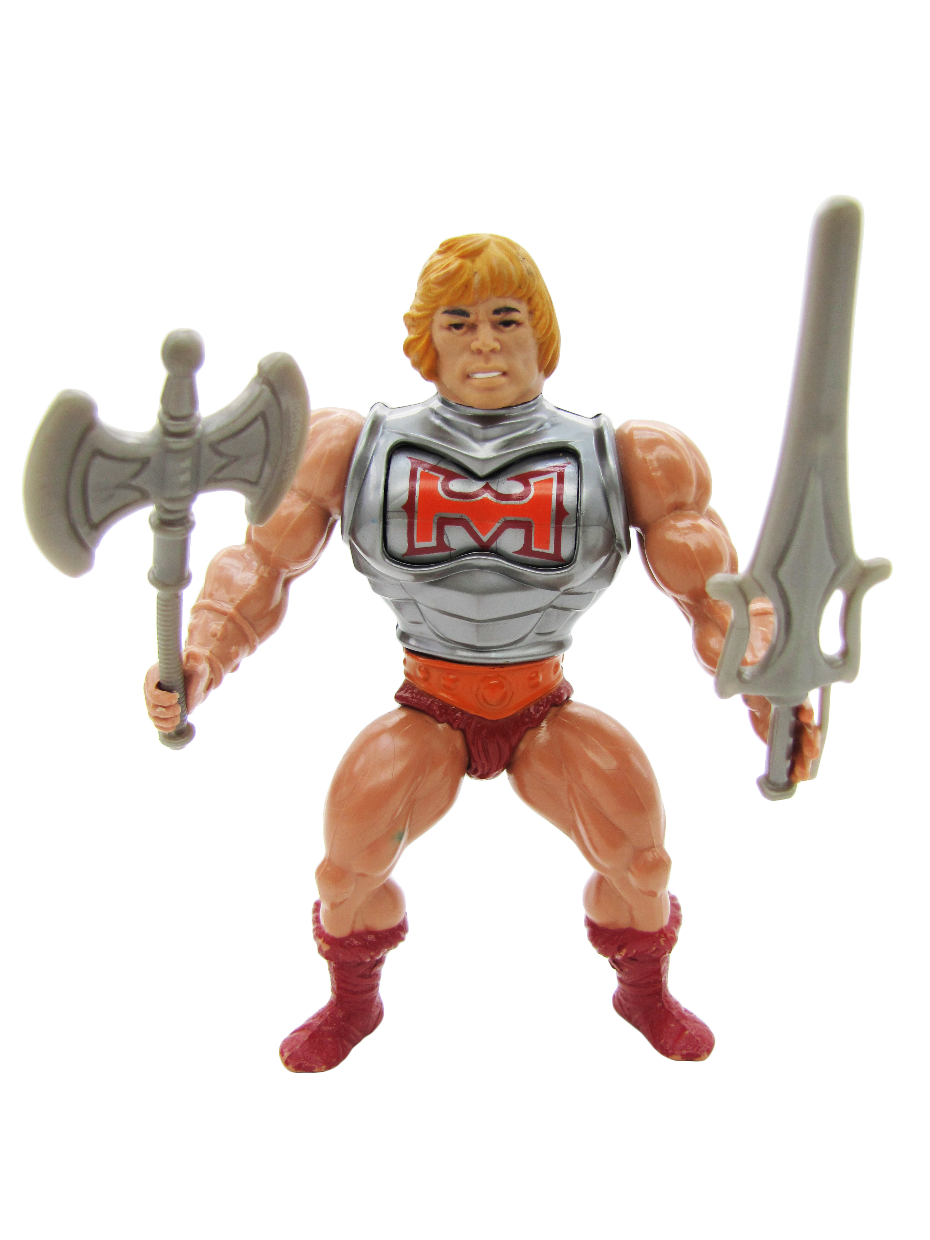 1984 MOTU Masters of the Universe BATTLE ARMOR HE-MAN Complete Near Mint