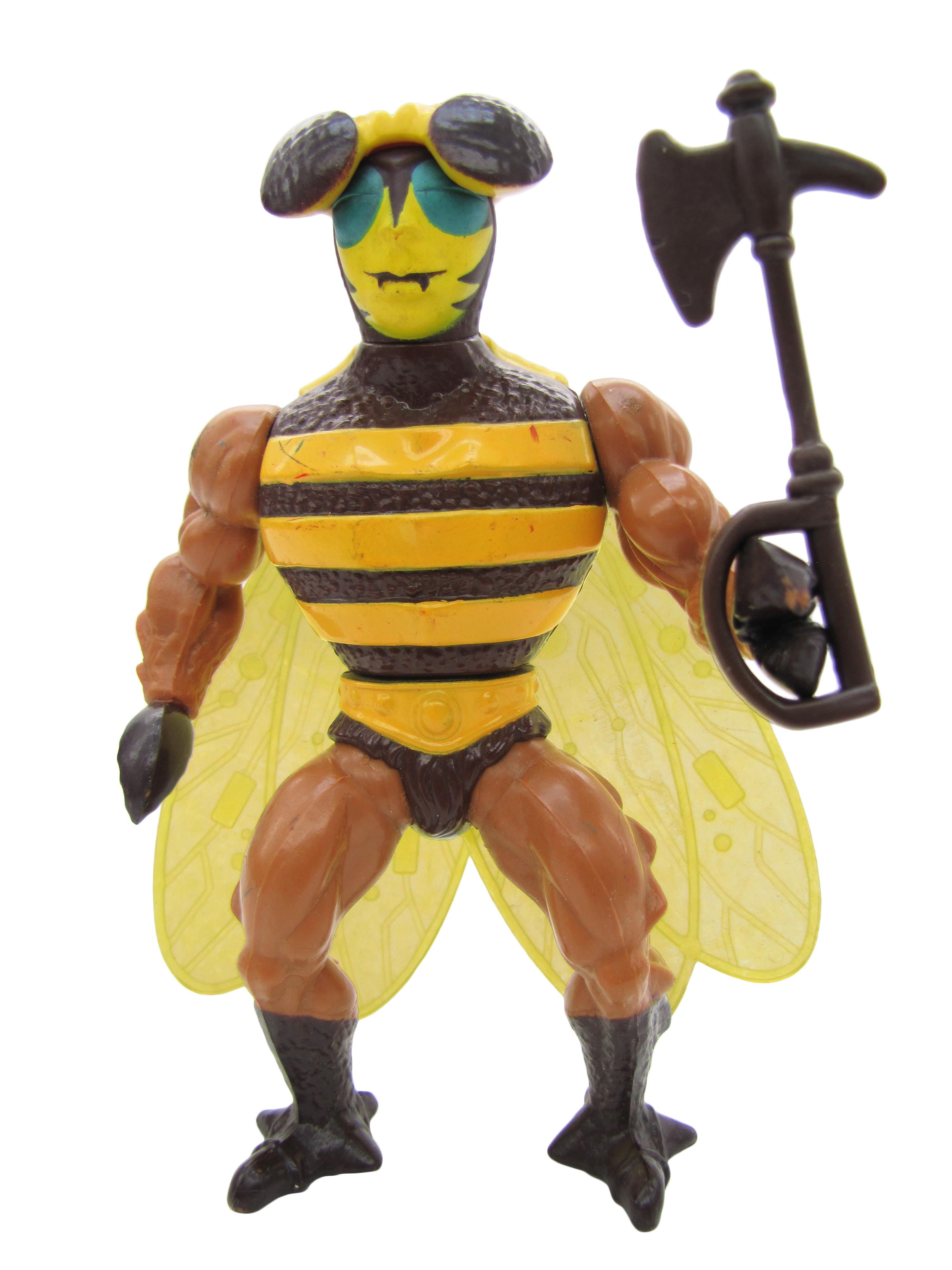 1984 MOTU Masters of the Universe BUZZ-OFF HEROIC SPY IN THE SKY Complete Mint