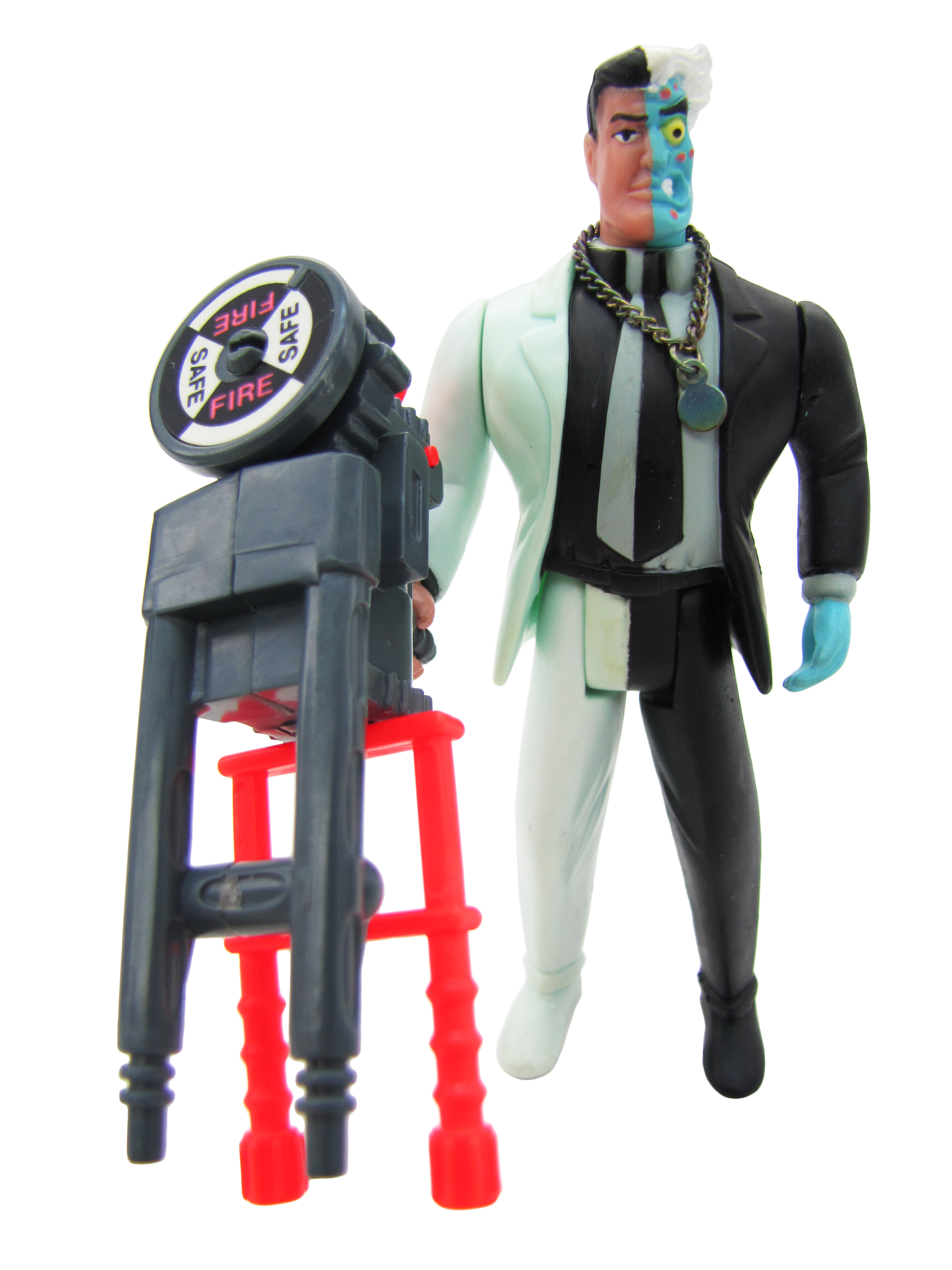 1992 Batman The Animated Series TWO-FACE Complete Mint
