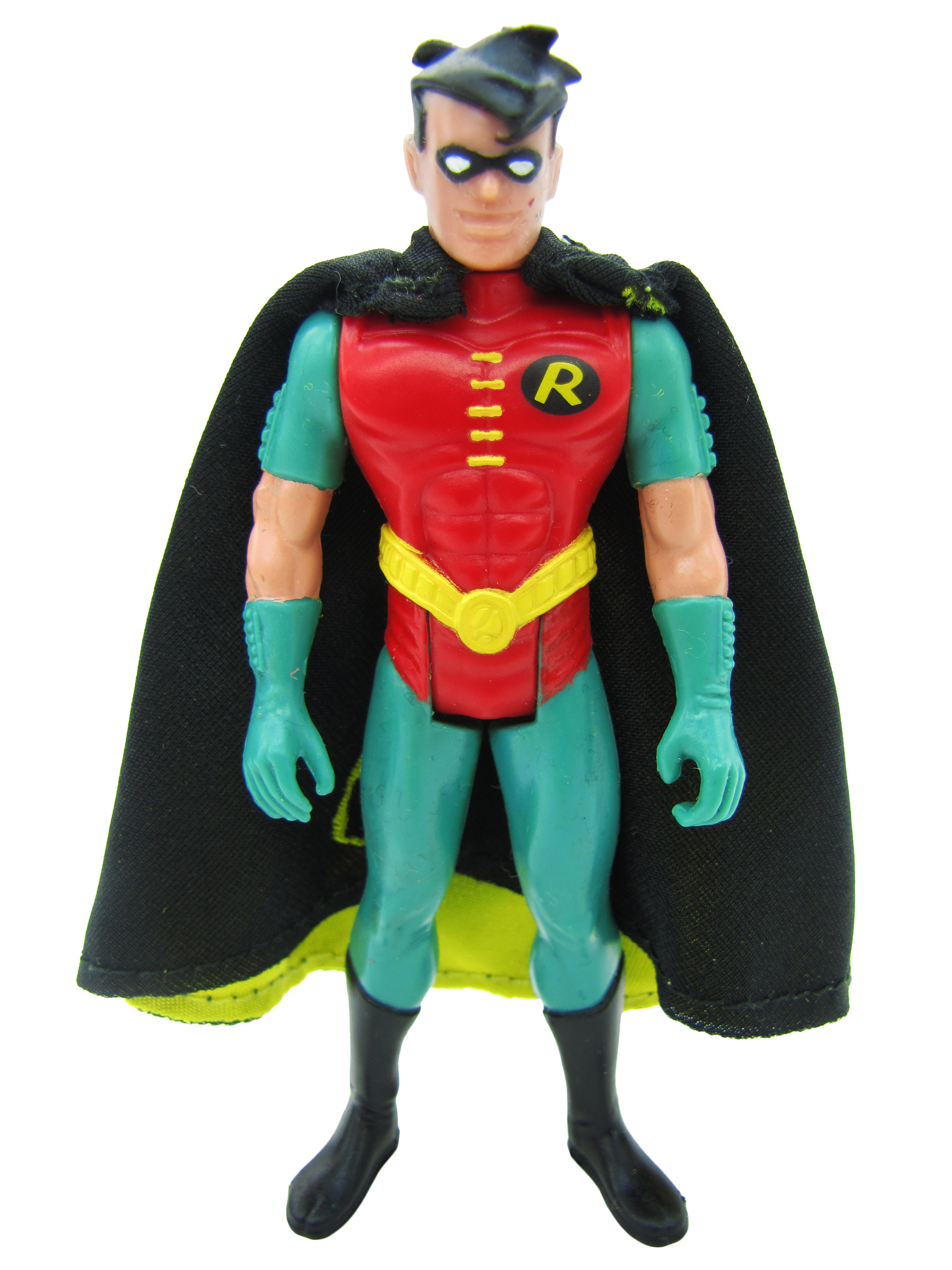 1992 Batman The Animated Series TURBO GLIDER ROBIN with Cape Mint
