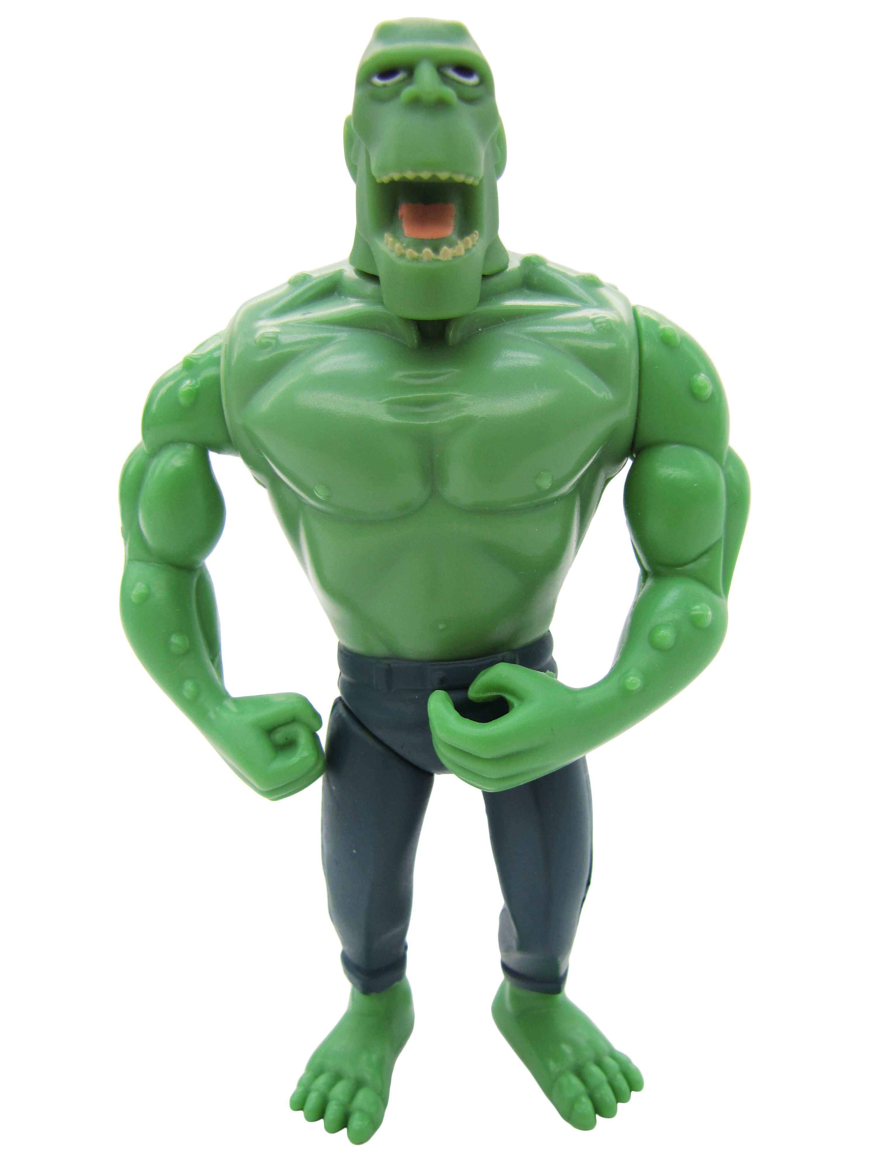 2001 Batman Mission Masters PUPPETS OF CRIME KILLER CROC Mint