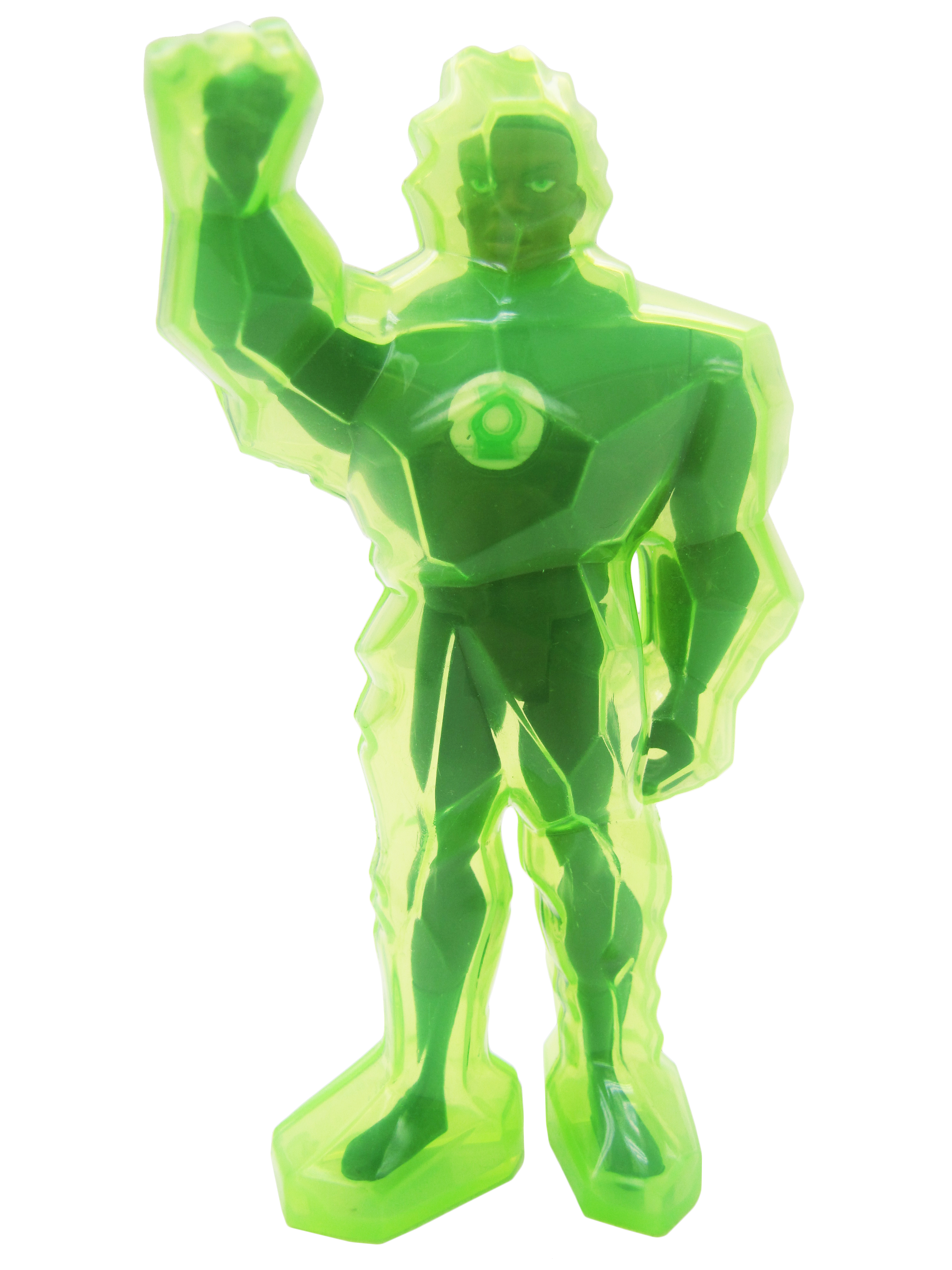 2003 Justice League Unlimited ATTACK ARMOR GREEN LANTERN Mint
