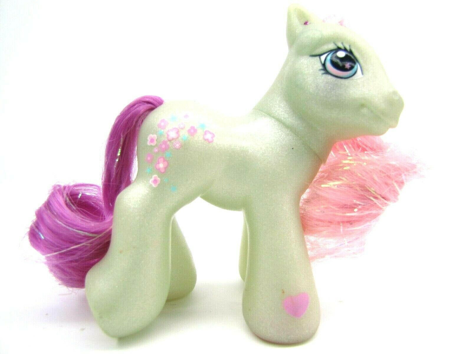 2004 My Little Pony Generation 3 Super Long Hair Baby FLOWER FLASH Very NICE