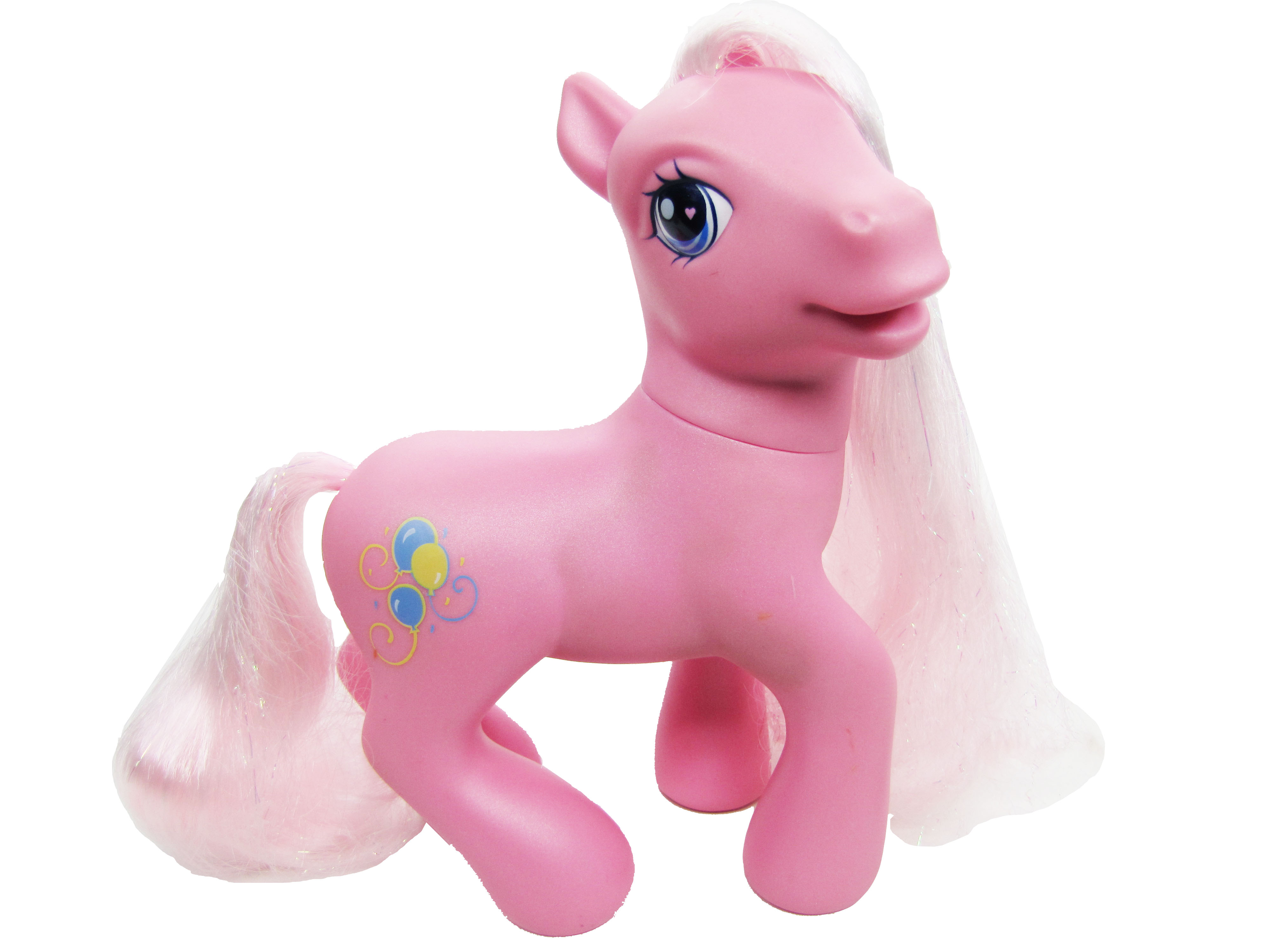 2006 My Little Pony Large Styling Pinkie Pie Complete