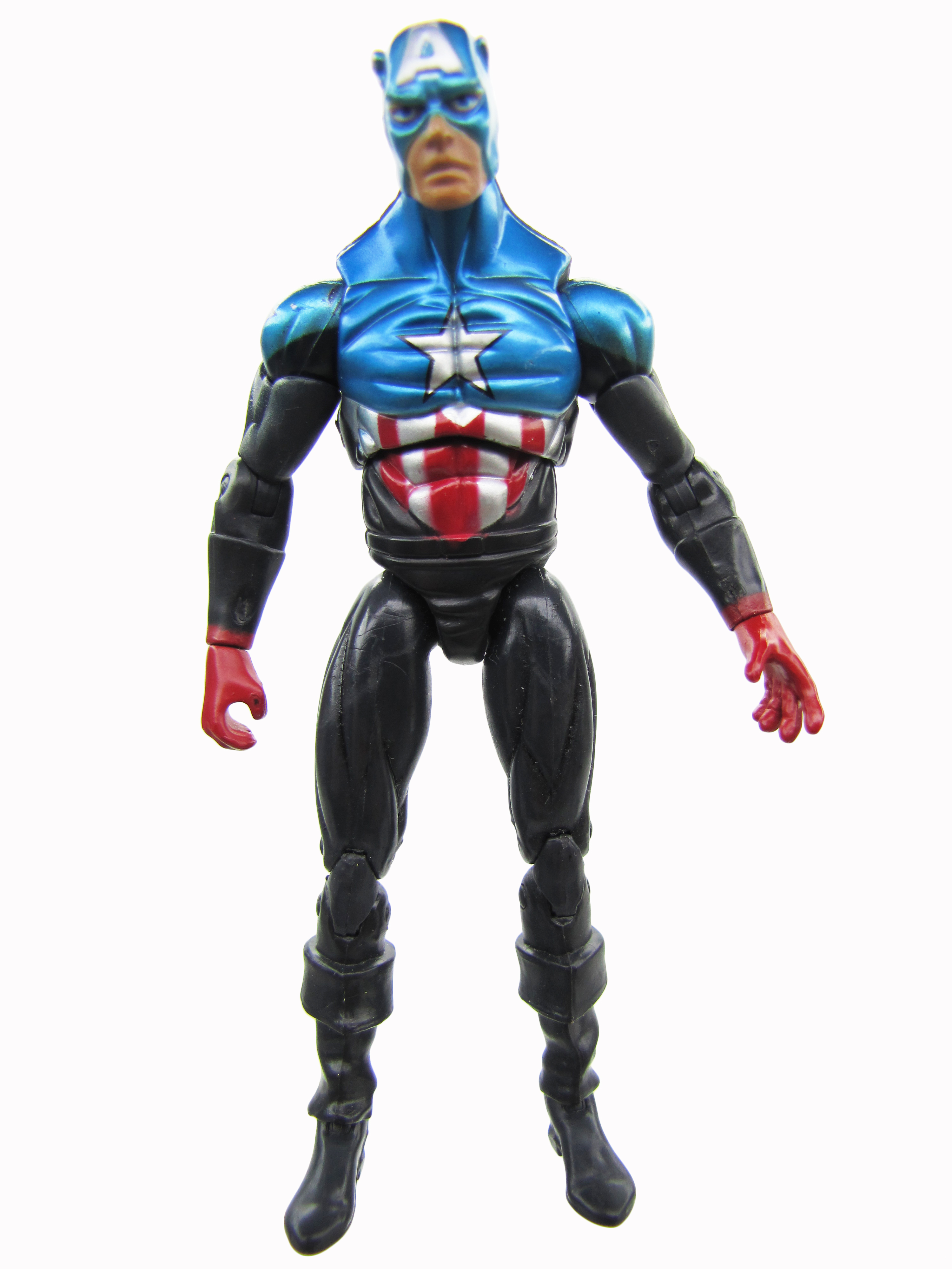 2009 Marvel Universe Captain America vs Skrull Giant Man BUCKY CAPTAIN AMERICA