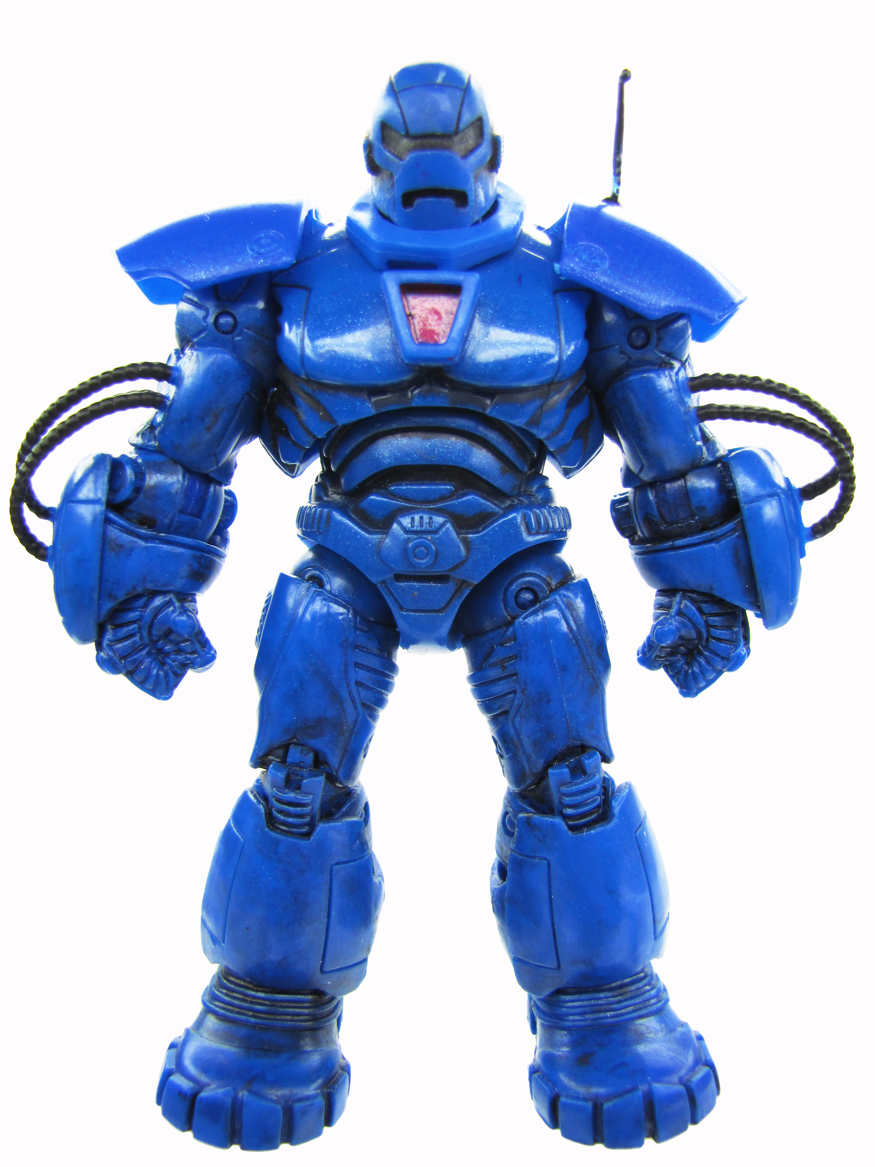 2010 Iron Man 2 Movie Series IRON MONGER Classic Blue Mint Condition