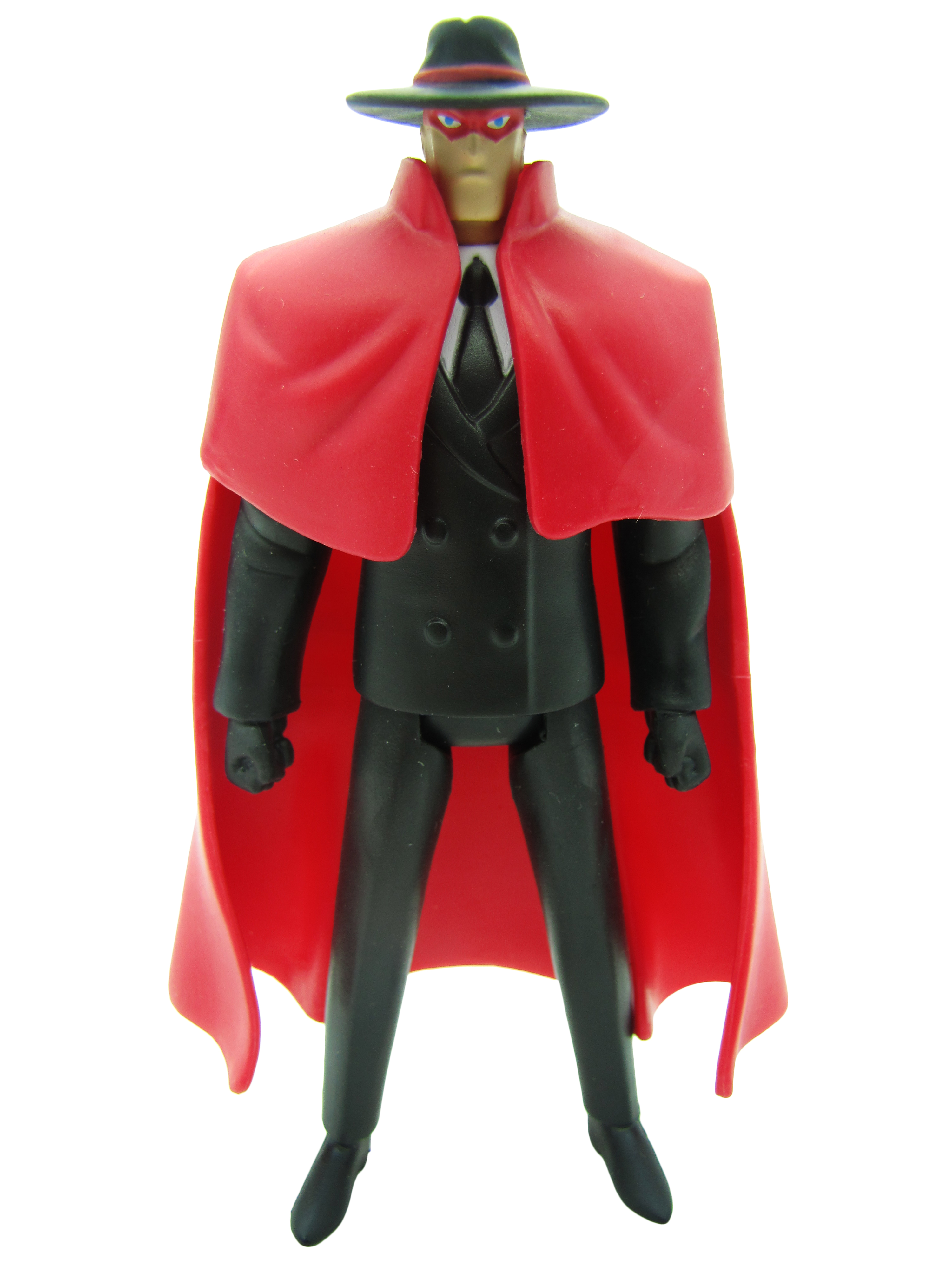 2011 Justice League Unlimited MATTY COLLECTOR FAN DEMANDED PACK CRIMSON AVENGER