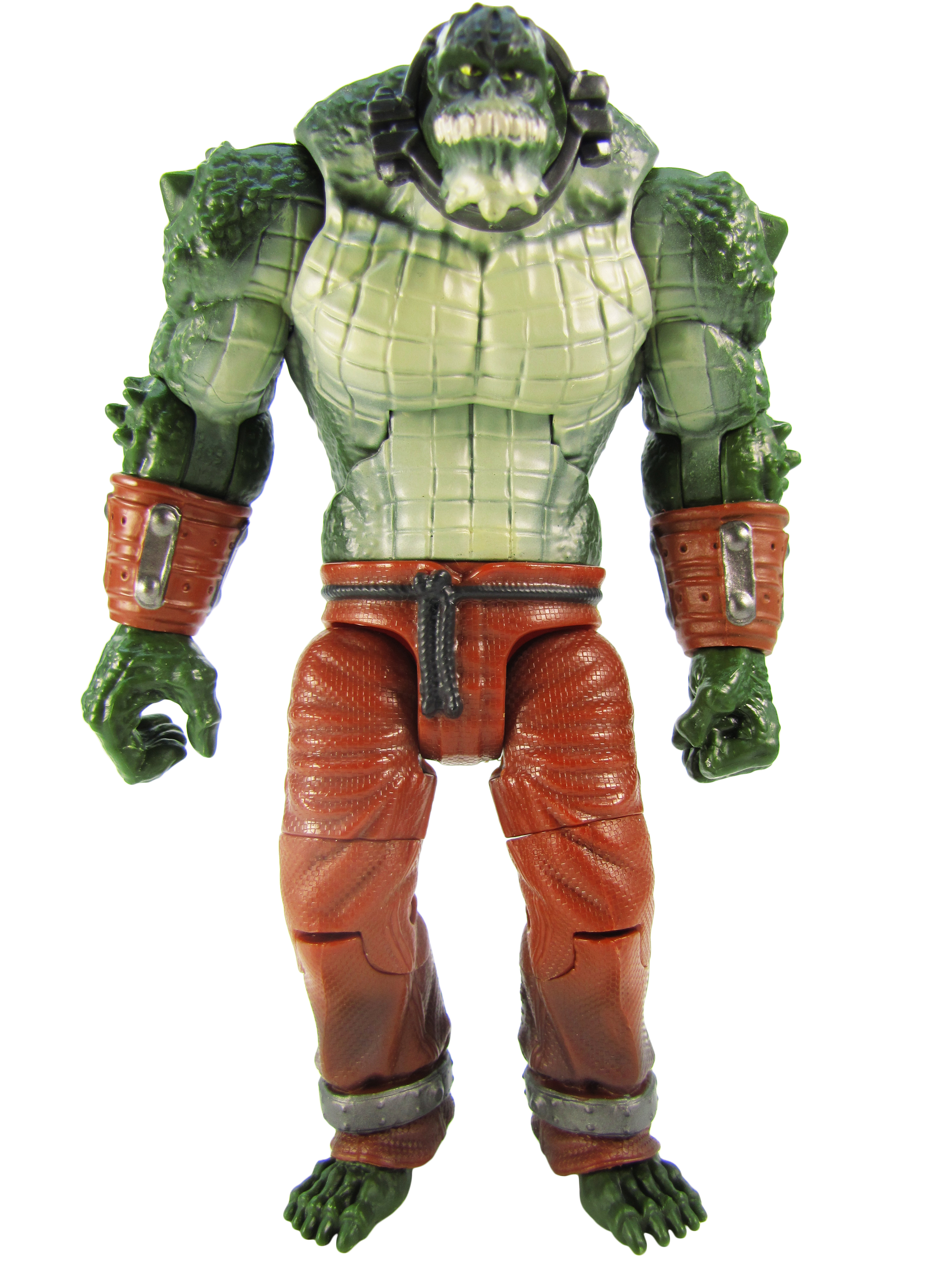 2014 Mattel DC Comics Multiverse Batman Arkham City KILLER CROC Complete Mint