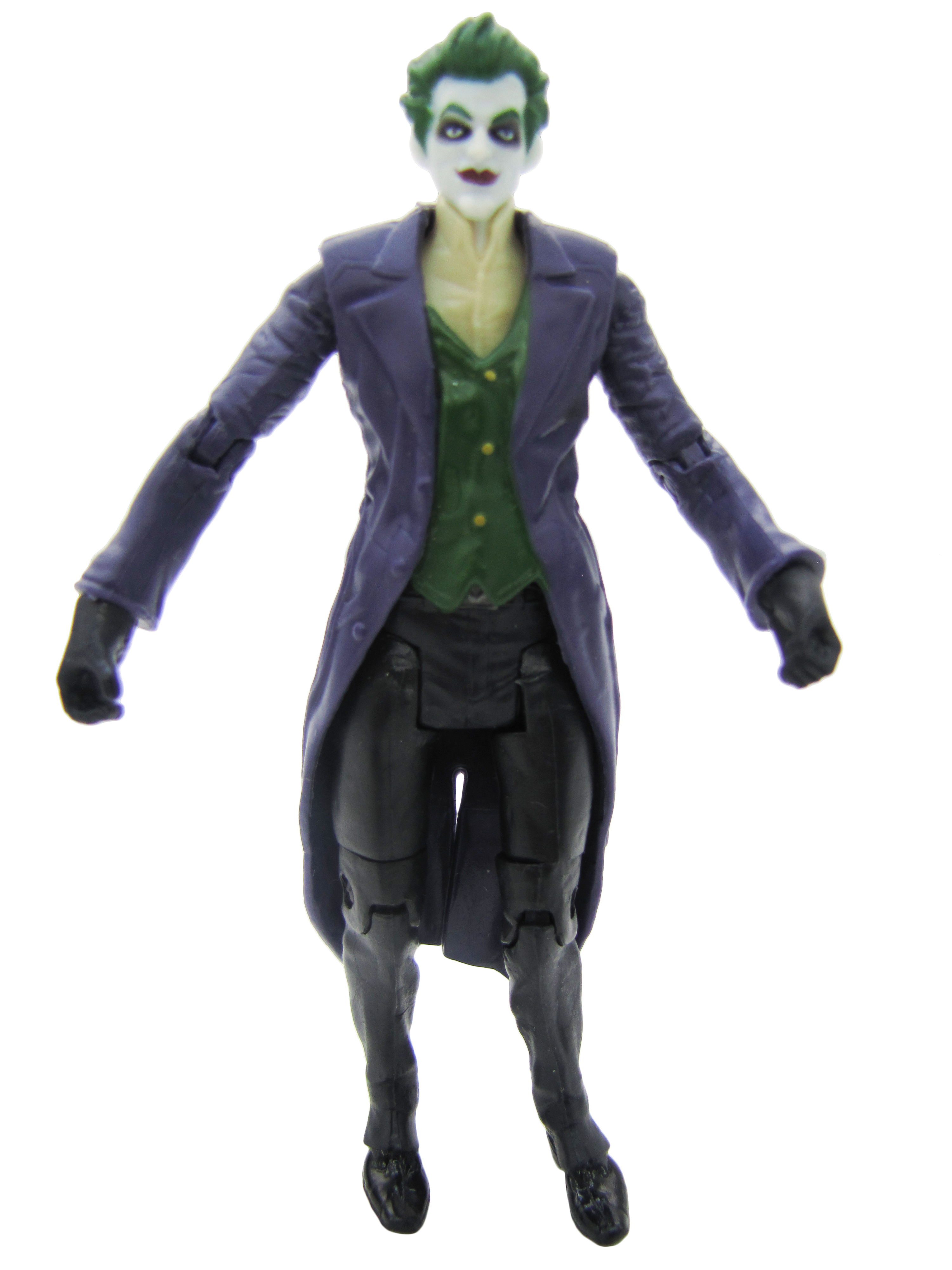 2014 Mattel DC Comics Multiverse Batman Arkham Origins THE JOKER Complete Mint