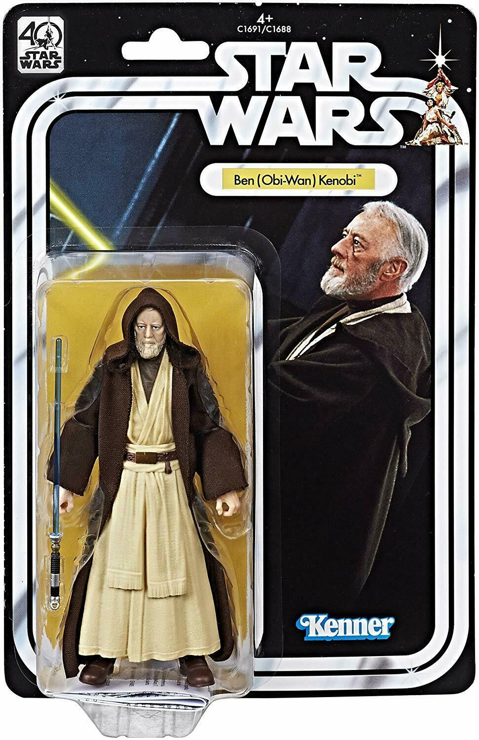 "2017 Star Wars Black Series 6"" 40th Anniversary BEN OBI-WAN KENOBI Sealed NEW"