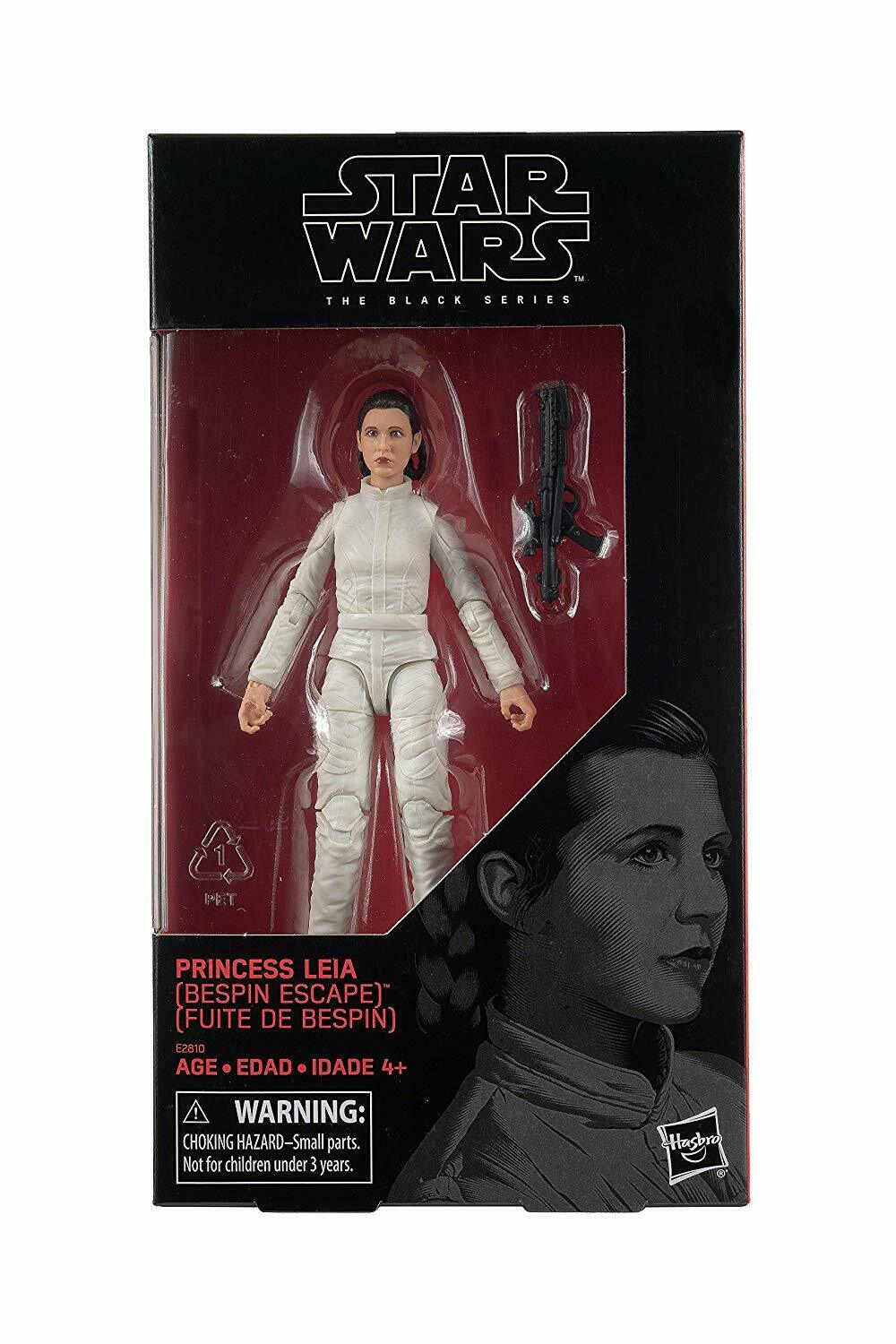 "2018 Star Wars Black Series 6"" PRINCESS LEIA ORGANA BESPIN ESCAPE Sealed NEW"