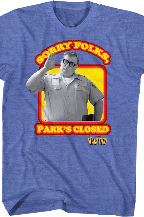 National Lampoon's Vacation Park's Closed Officially Licensed T-Shirt Small