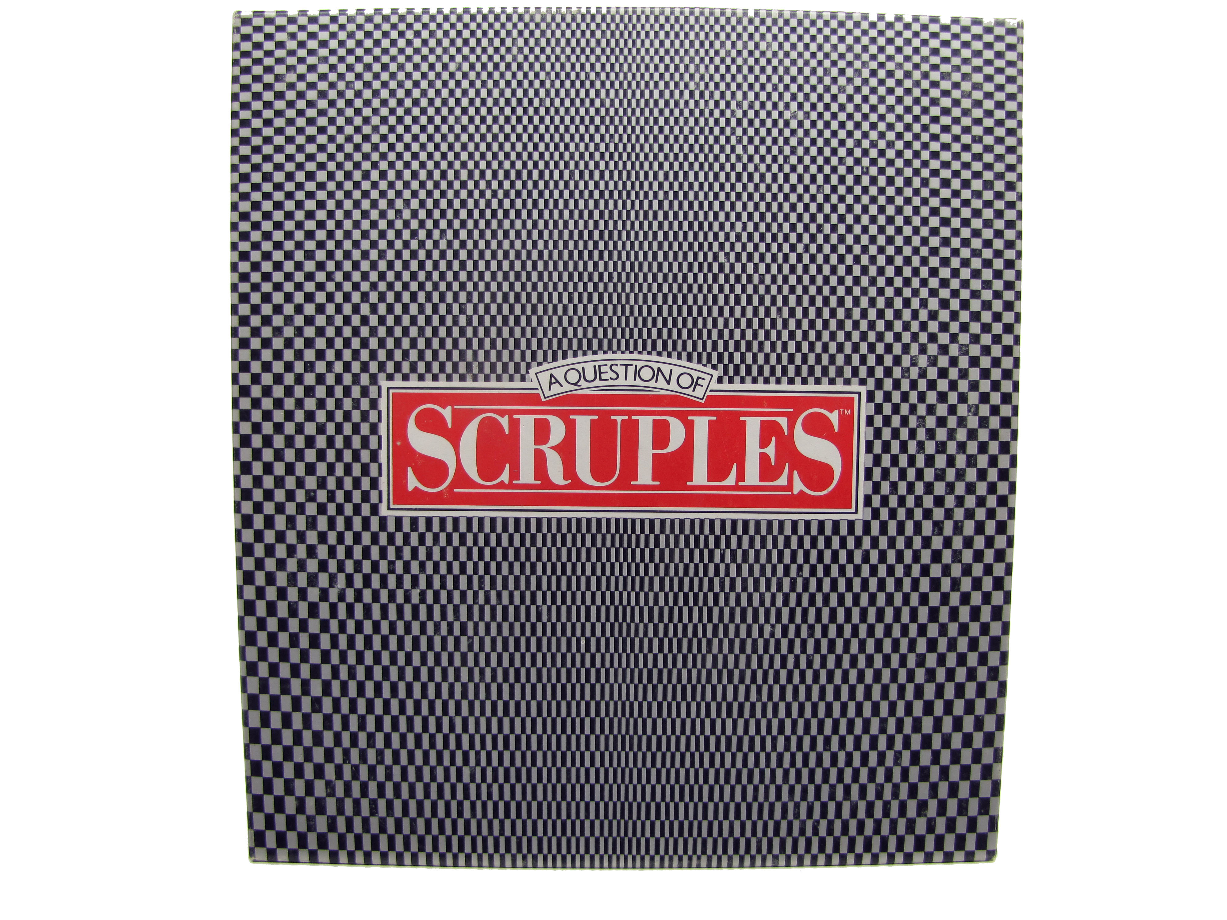 1986 Milton Bradley A Question of Scruples Board Game Complete