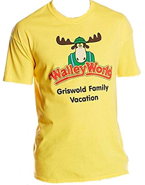 National Lampoon's Vacation Walley World Officially Licensed T-Shirt Small