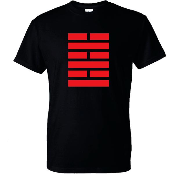 G.I.Joe Arashikage Logo Officially Licensed Black T-Shirt 3X-Large Tall