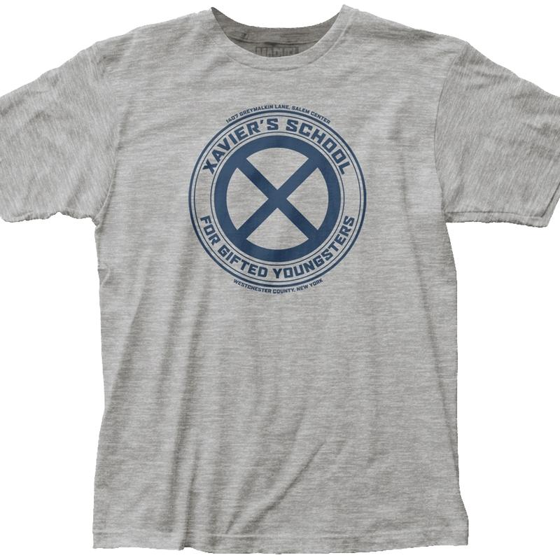 X-Men Professor Chalrles Xavier's School For Gifted Youngsters T-Shirt X-Large