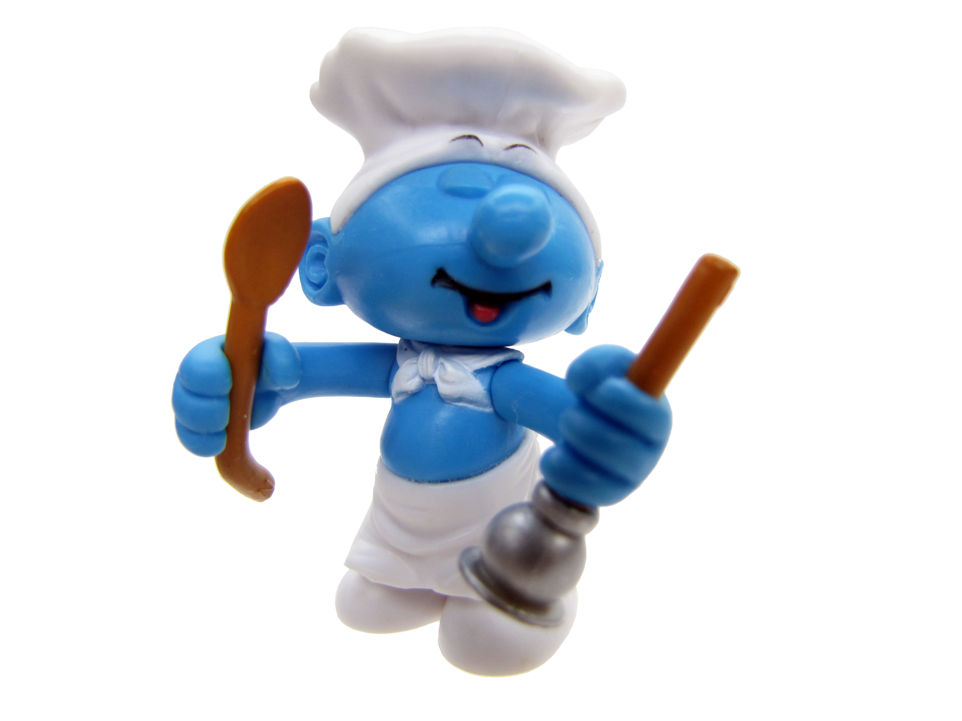 2008 The Smurfs Series 2: Cook Smurf Complete