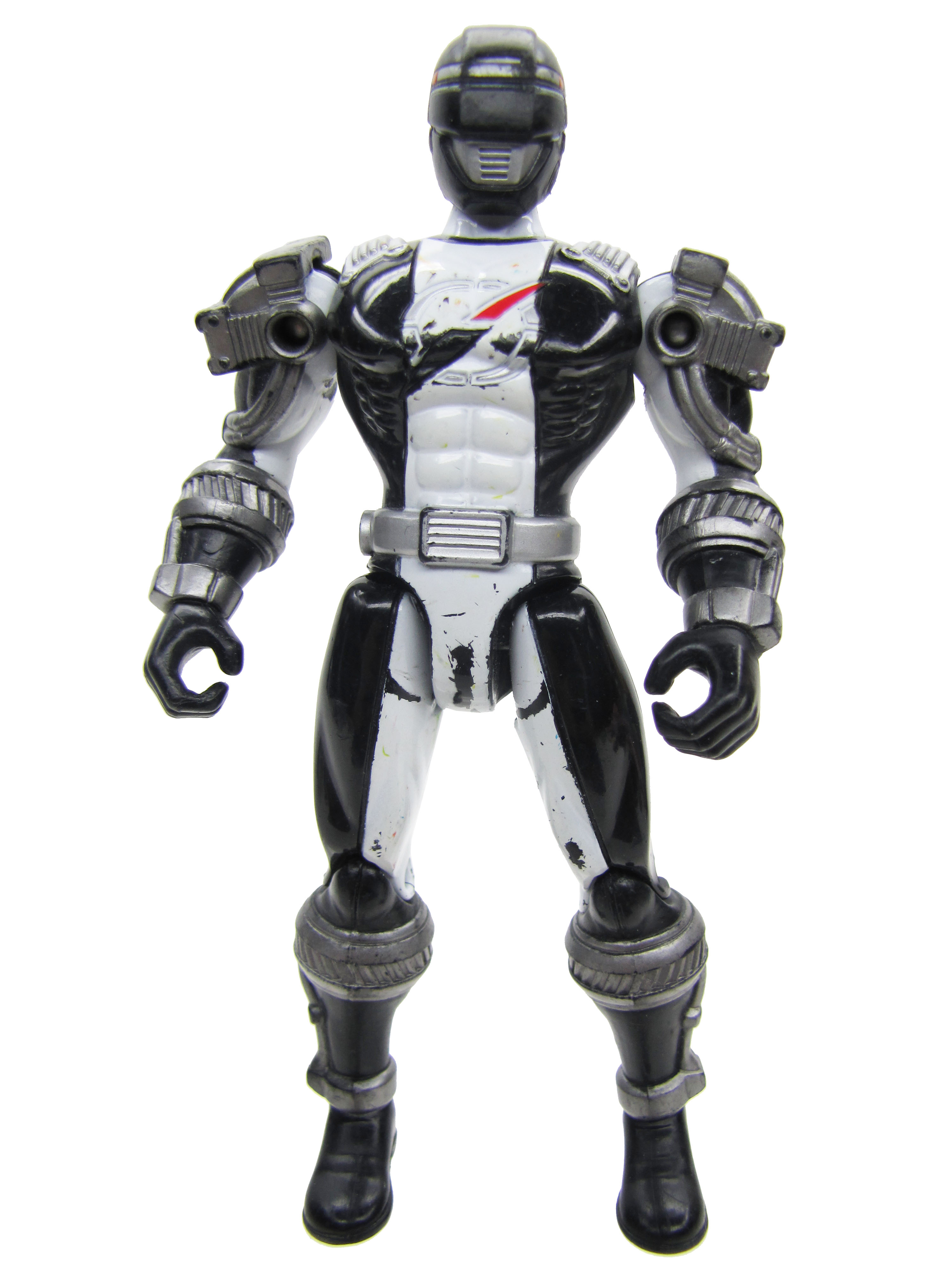2007 Power Rangers Operation Overdrive Black Ranger