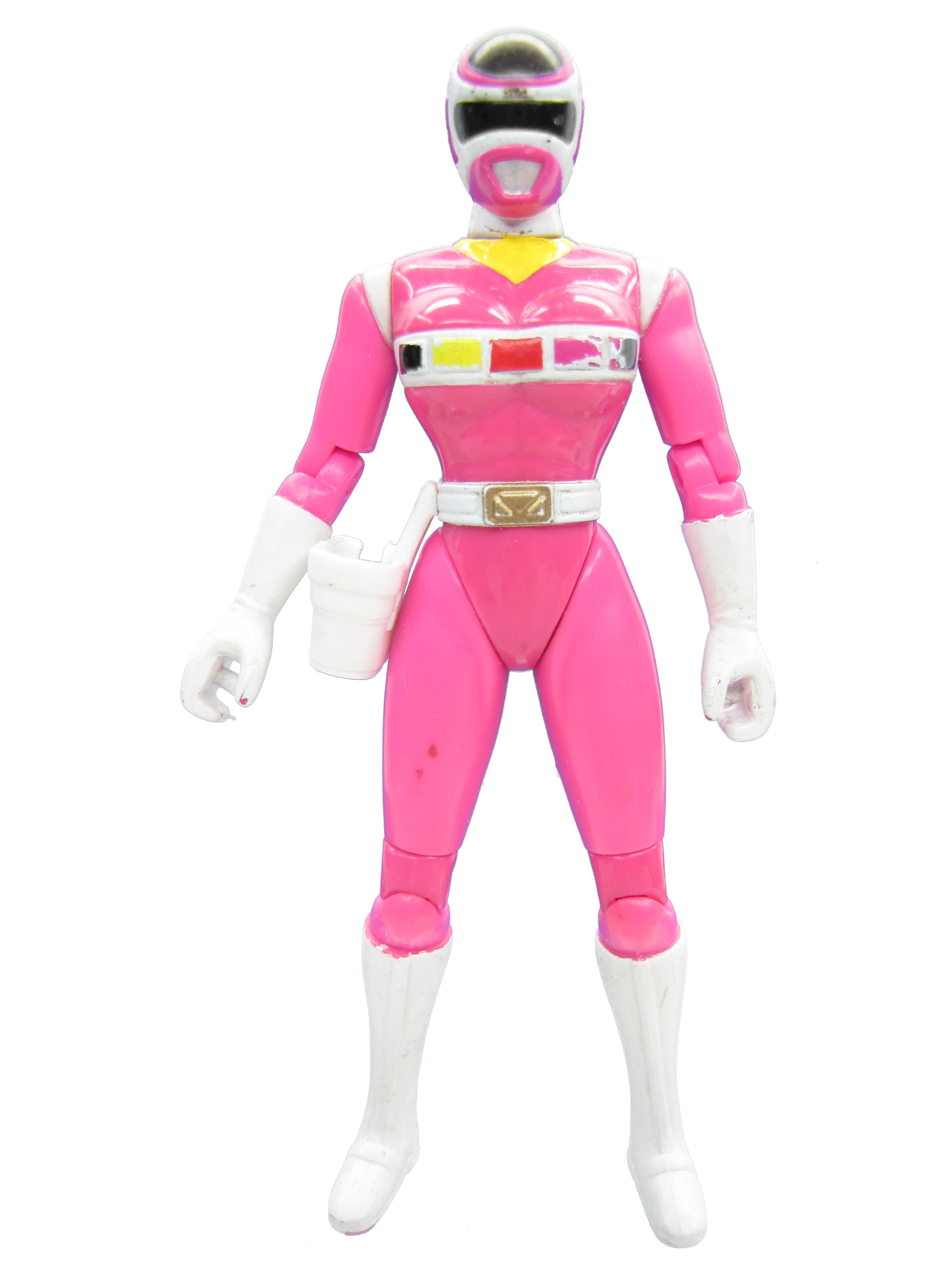 1998 Mighty Morphin Power Rangers Lightstar Pink Power Ranger