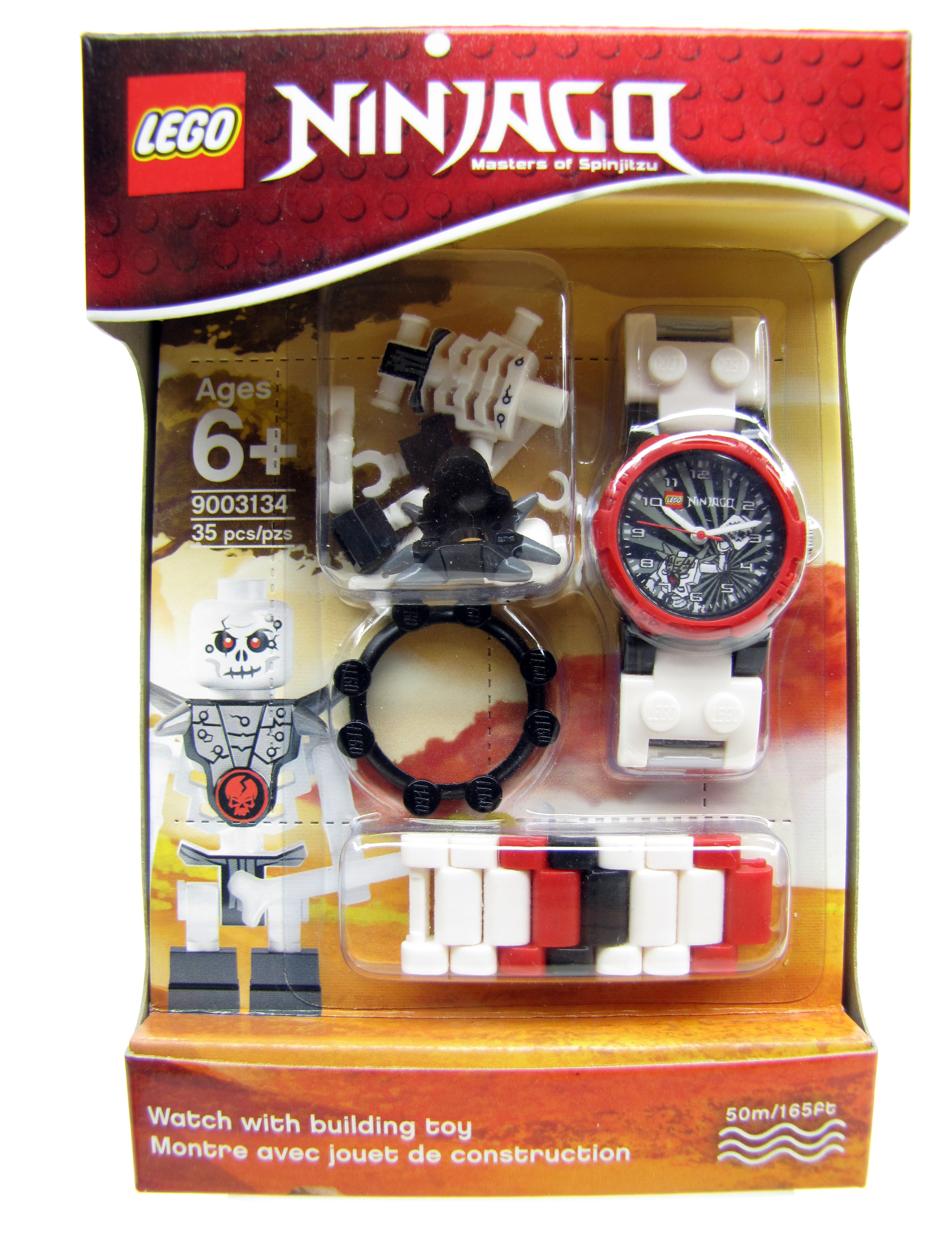LEGO Ninjago Masters Spinjitzu Chopov Minifigure Watch NEW 90313