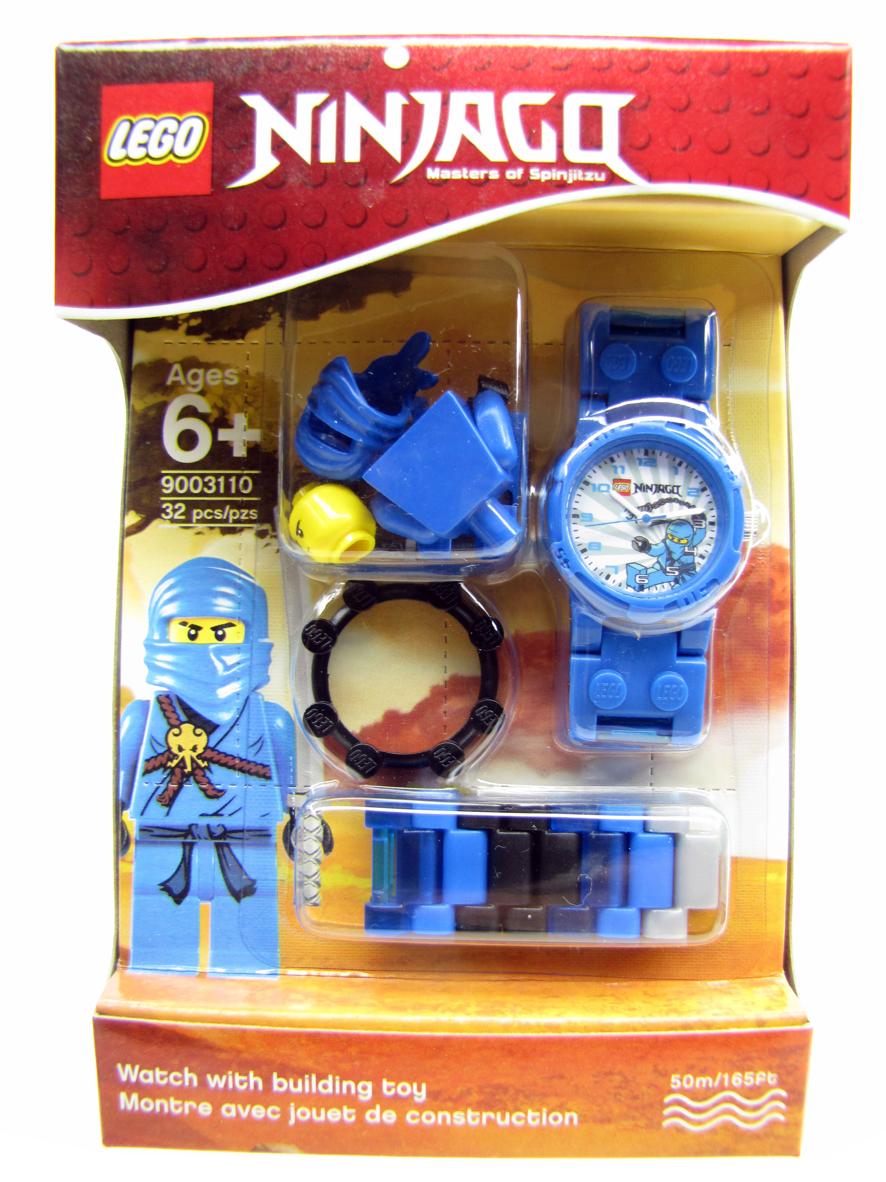 LEGO Ninjago Masters Spinjitzu Jay Minifigure Watch NEW Lego Tim