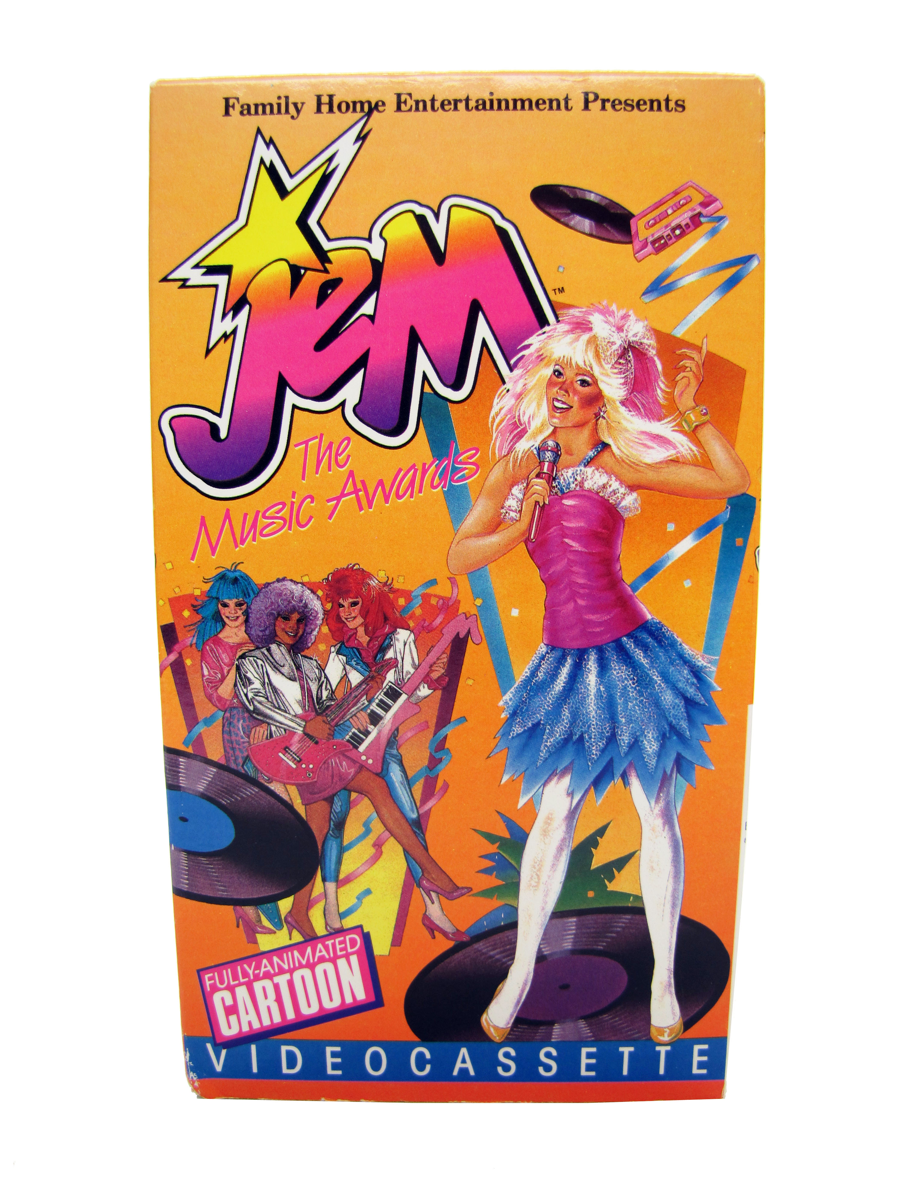 1987 Jem & the Holograms The Music Awards VHS Excellent Conditio