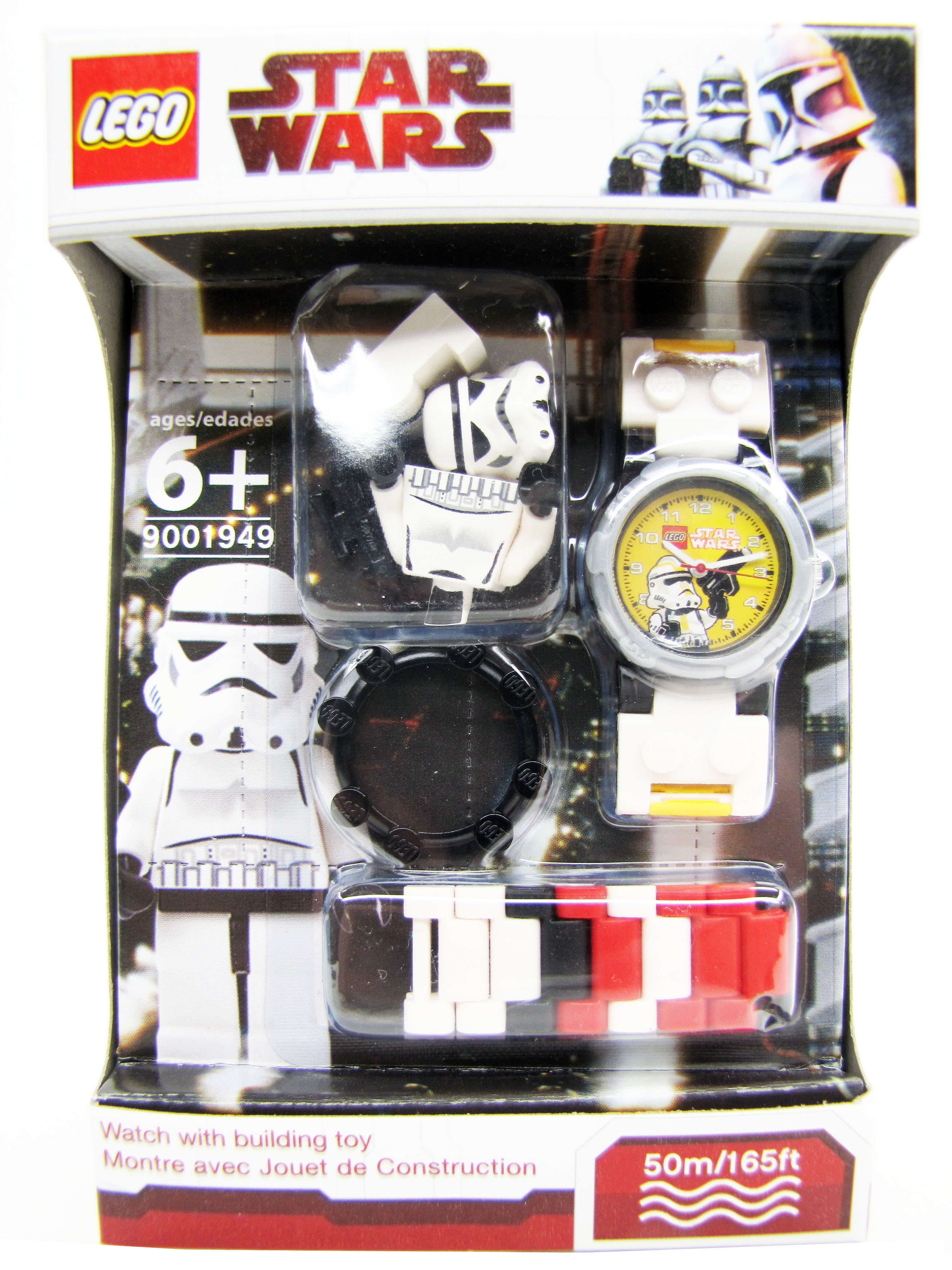 2010 Lego Star Wars Stormtrooper Minifigure Watch NEW Time 9001949